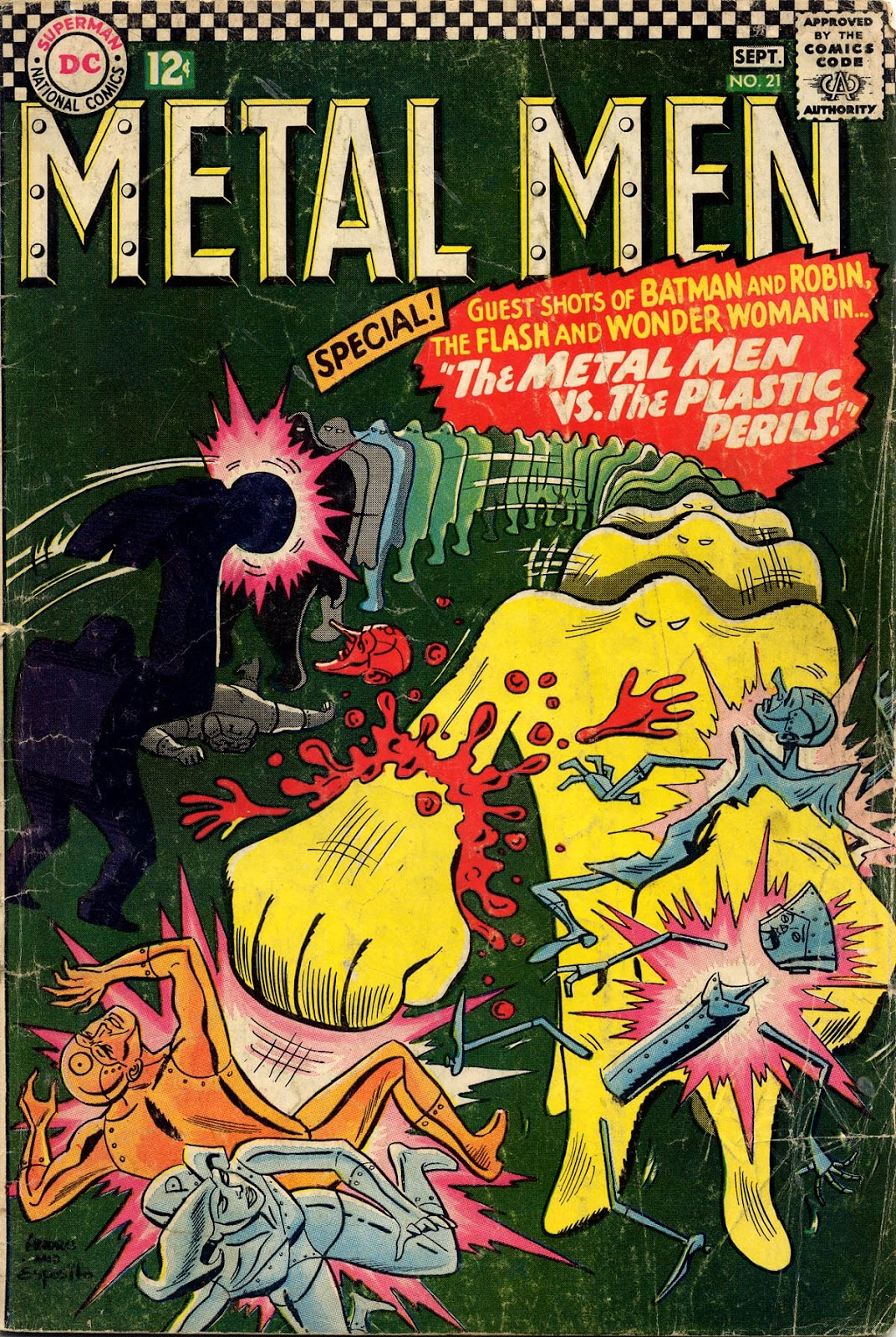 Metal Men (1963) issue 21 - Page 1