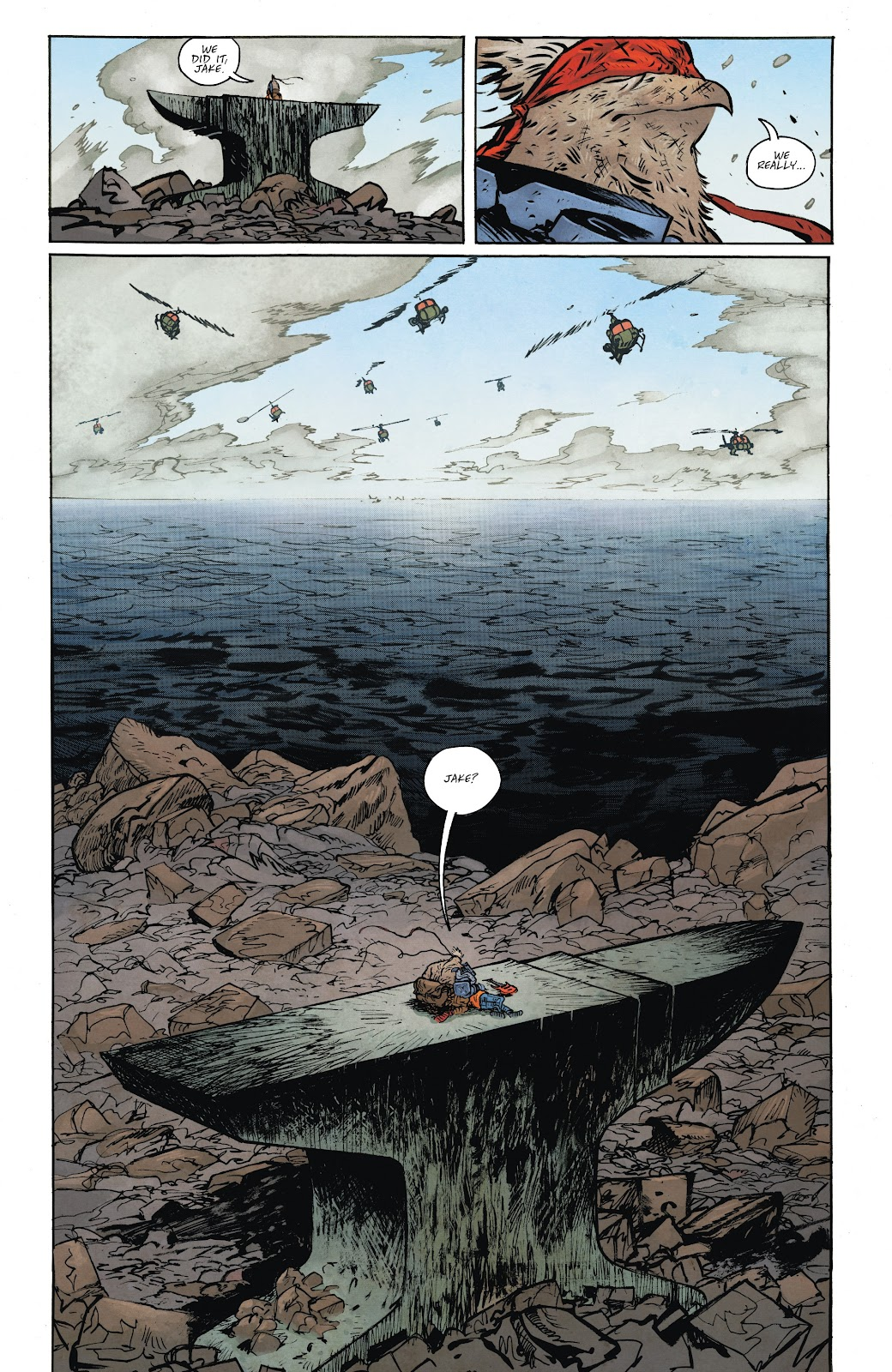 Read online Murder Falcon comic -  Issue #8 - 22