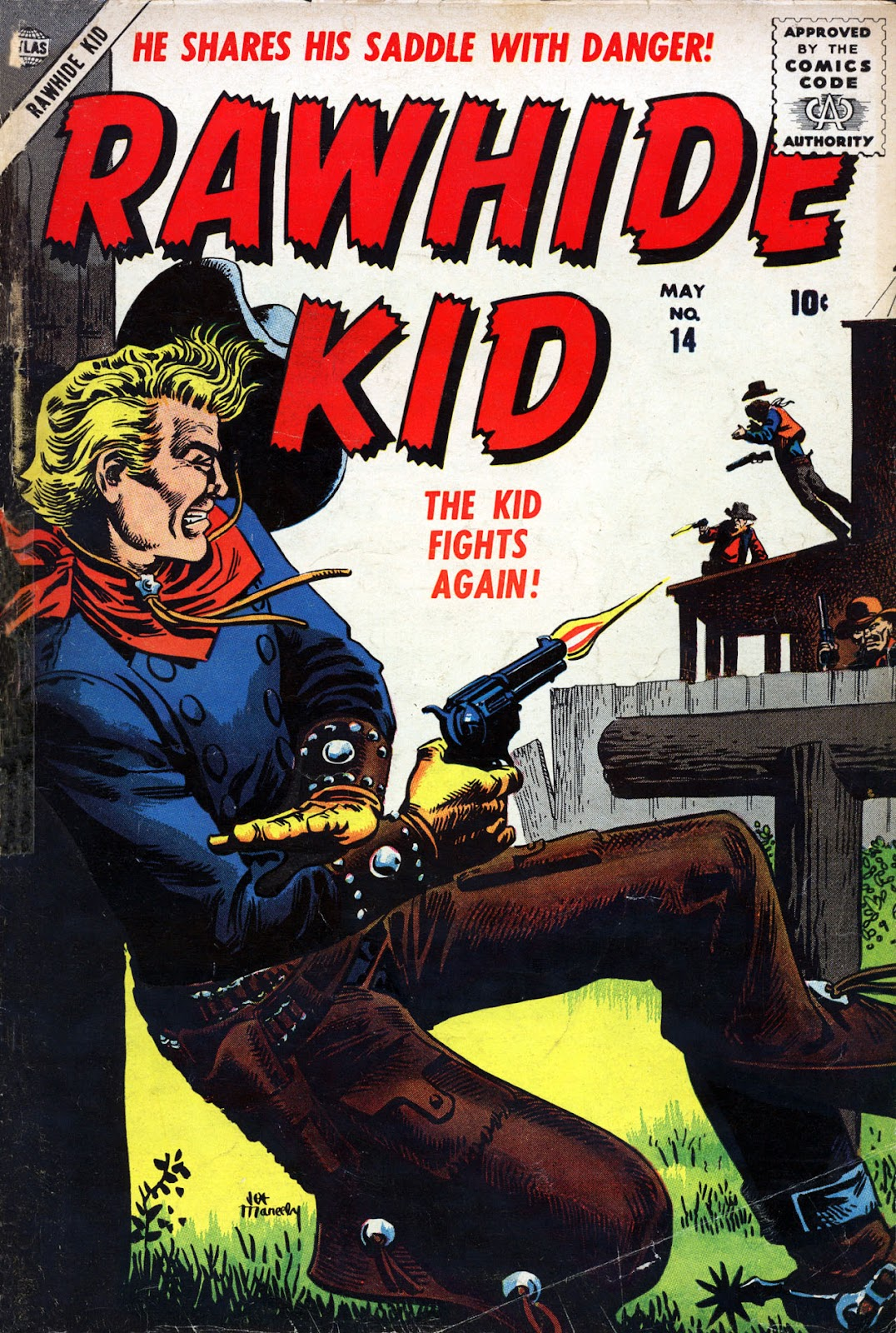 The Rawhide Kid (1955) issue 14 - Page 1
