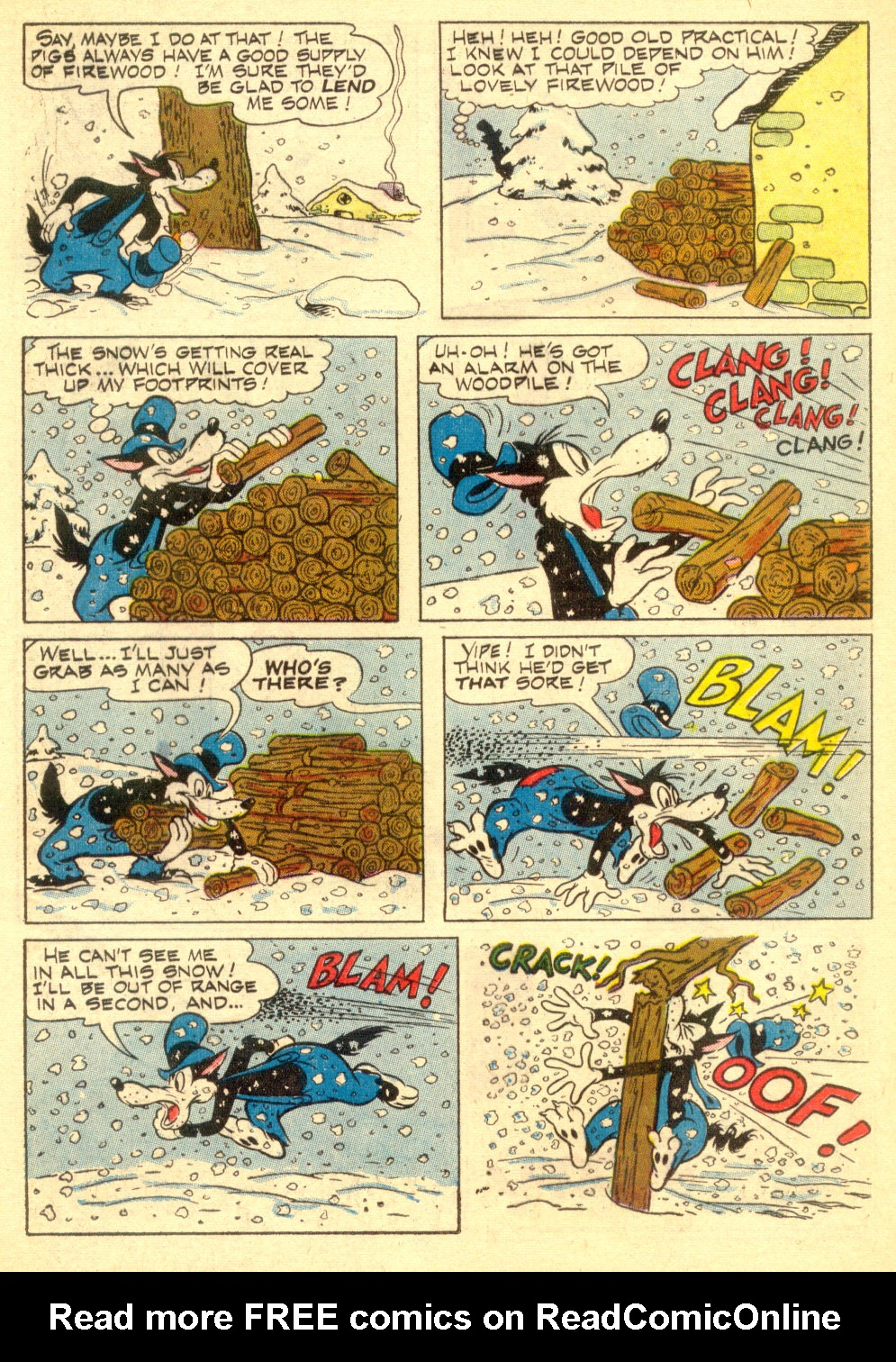 Walt Disney's Comics and Stories issue 196 - Page 16
