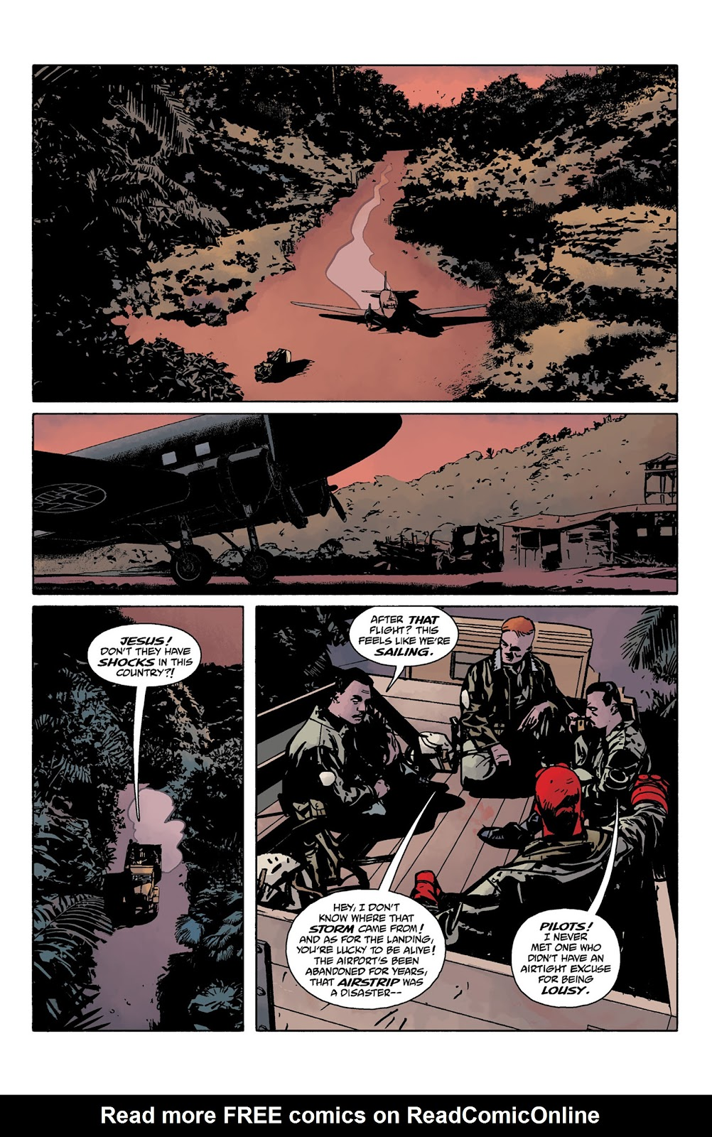 Read online Hellboy and the B.P.R.D. comic -  Issue # _TPB - 21