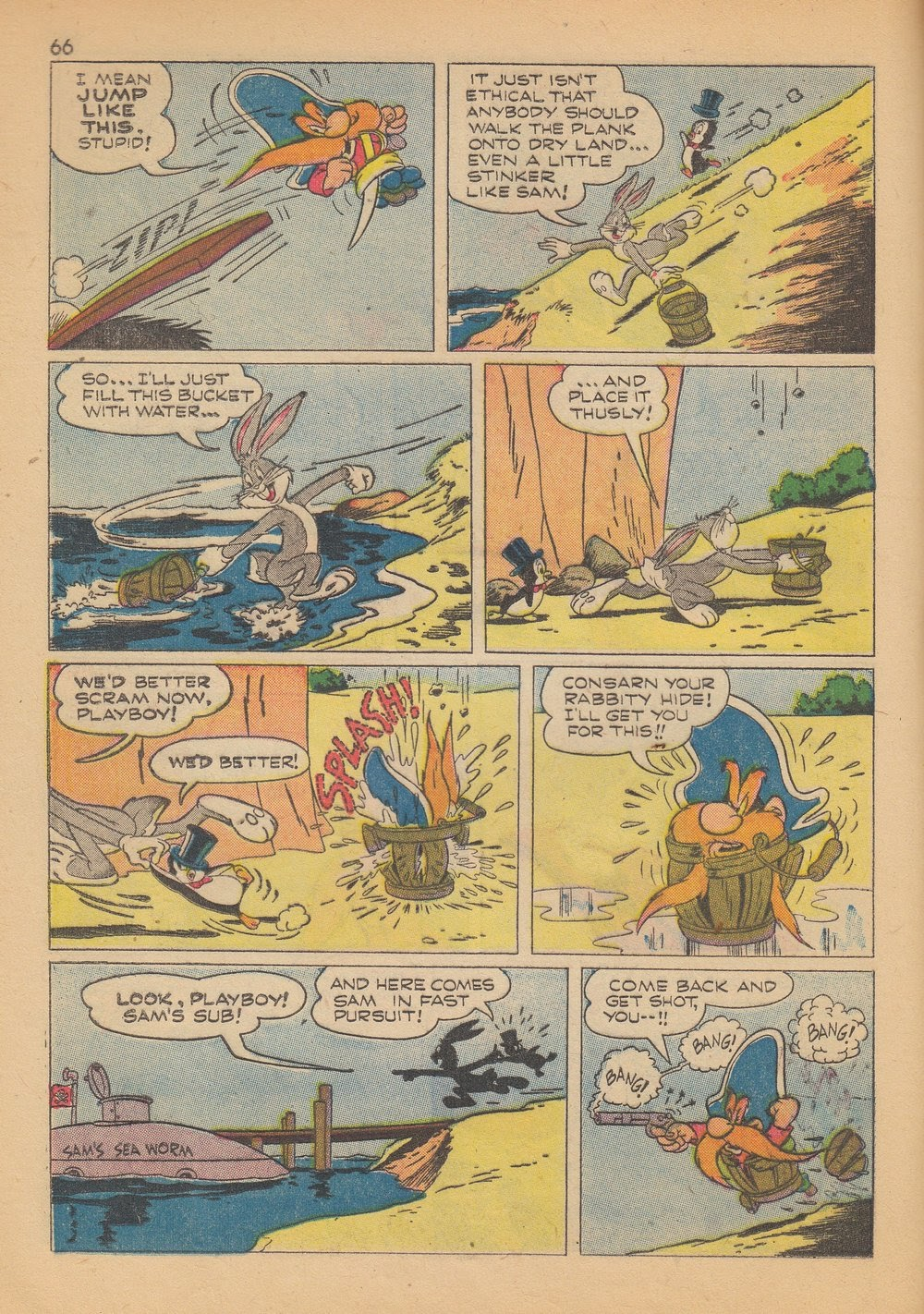 Bugs Bunny's Christmas Funnies issue TPB 4 - Page 68