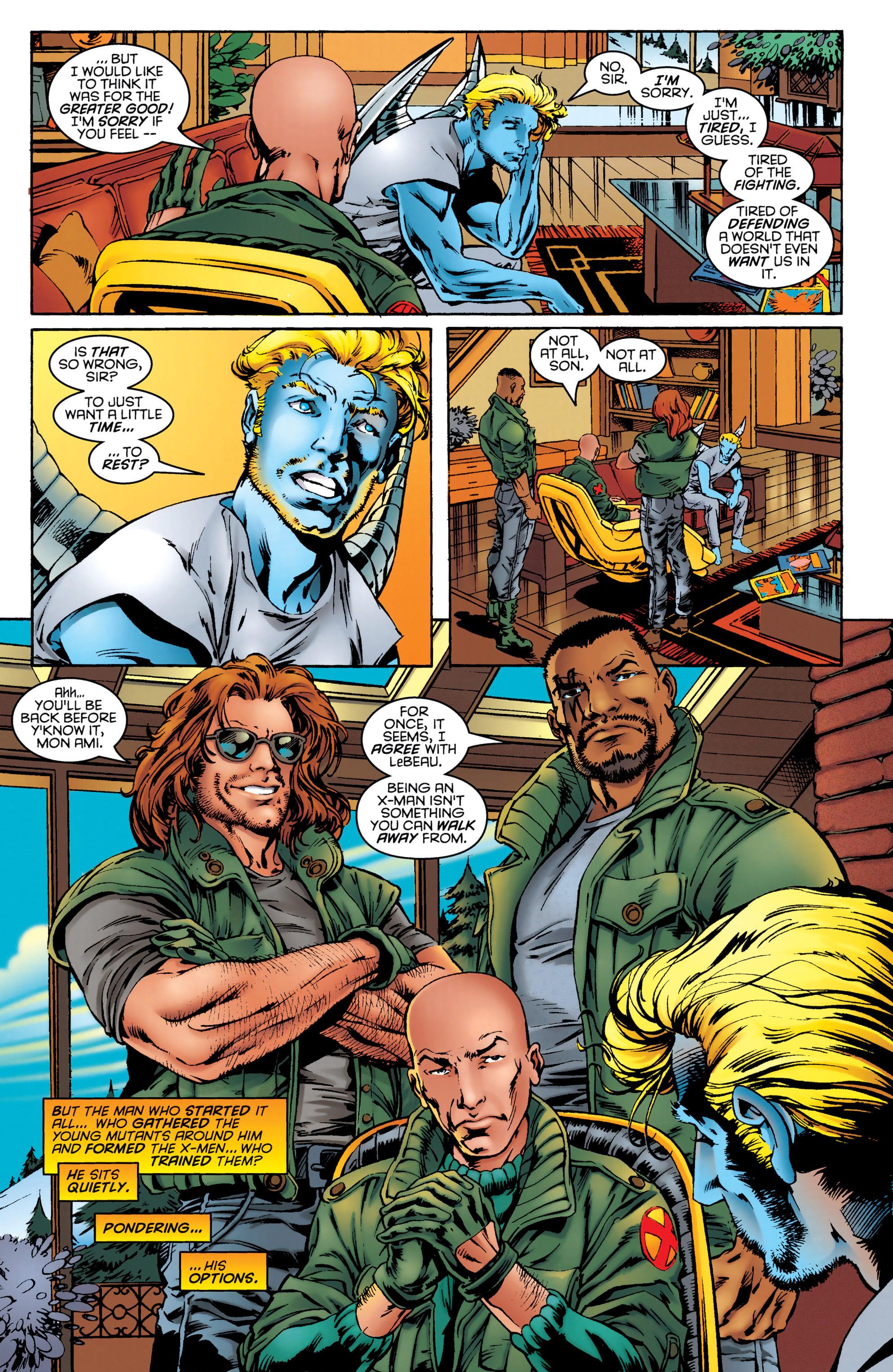 Read online Uncanny X-Men (1963) comic -  Issue #331 - 9
