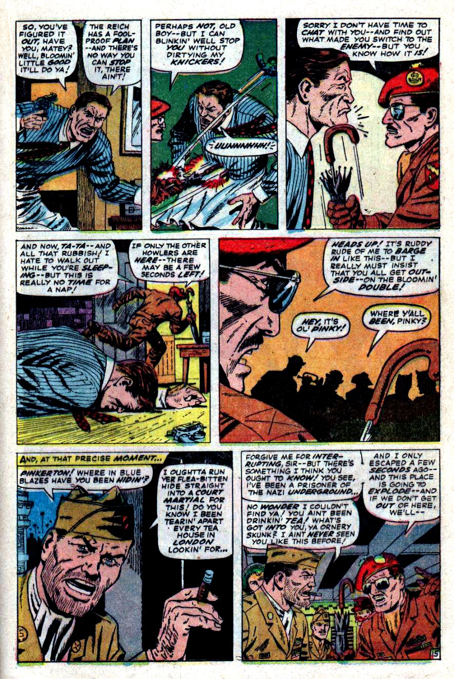 Read online Sgt. Fury comic -  Issue #47 - 20
