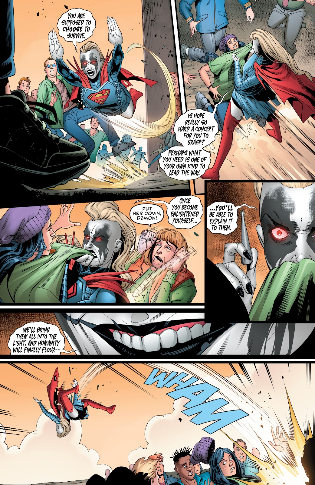 Read online Supergirl (2016) comic -  Issue #38 - 15