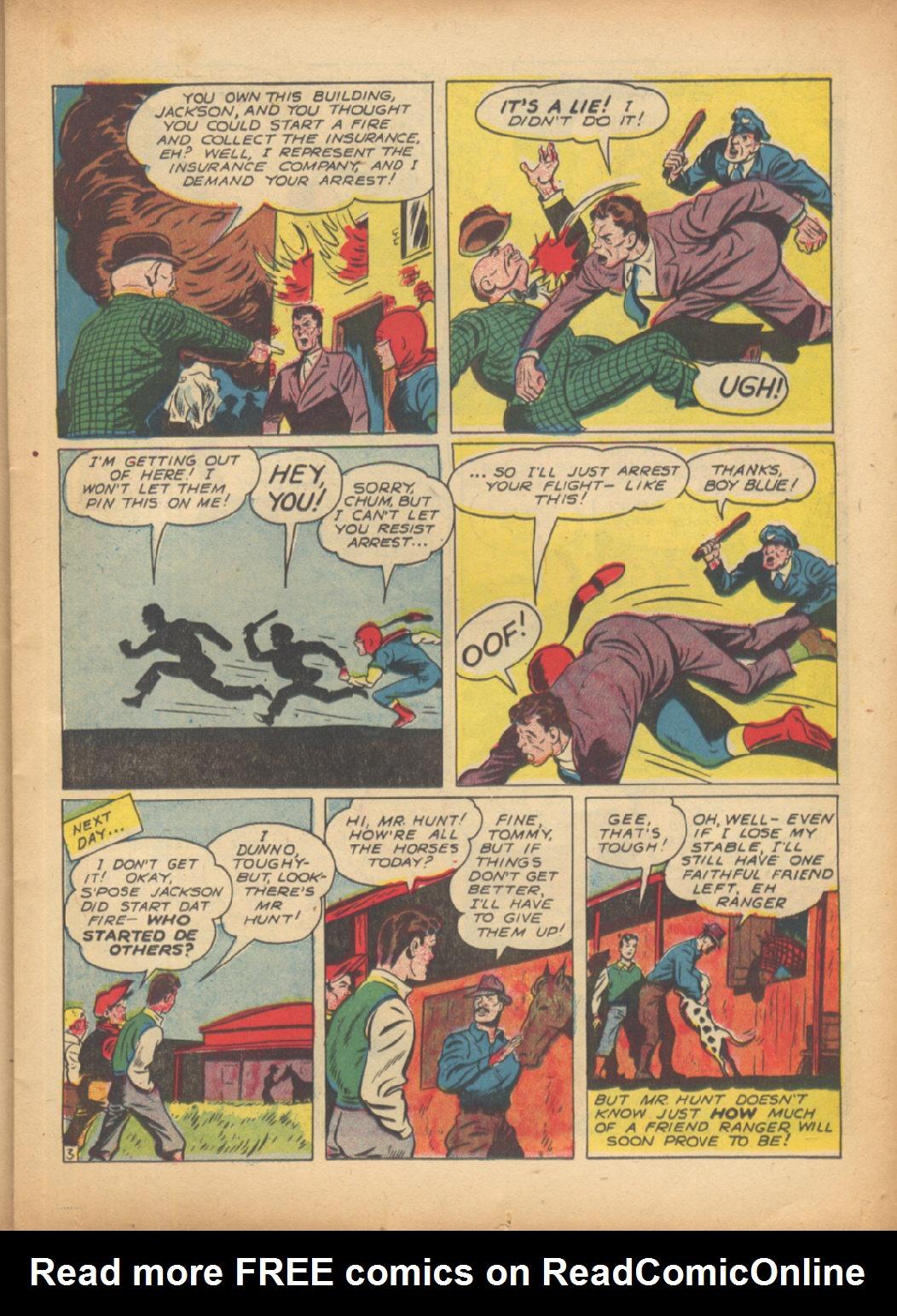 Read online Sensation (Mystery) Comics comic -  Issue #24 - 27