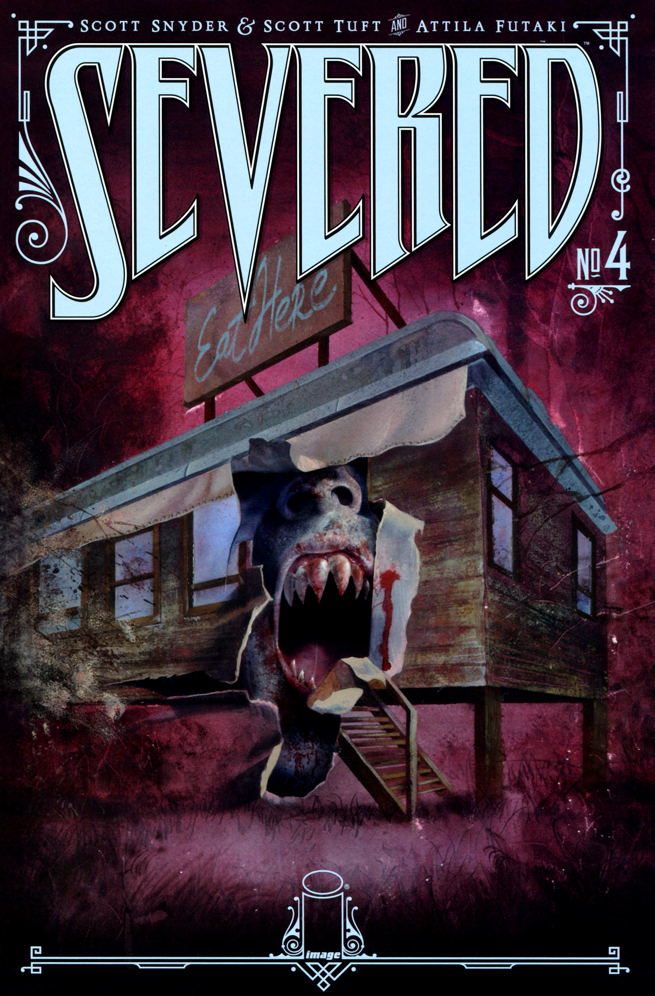 Read online Severed comic -  Issue #4 - 1