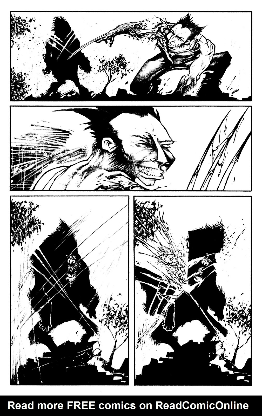Read online Rampaging Wolverine comic -  Issue # Full - 44