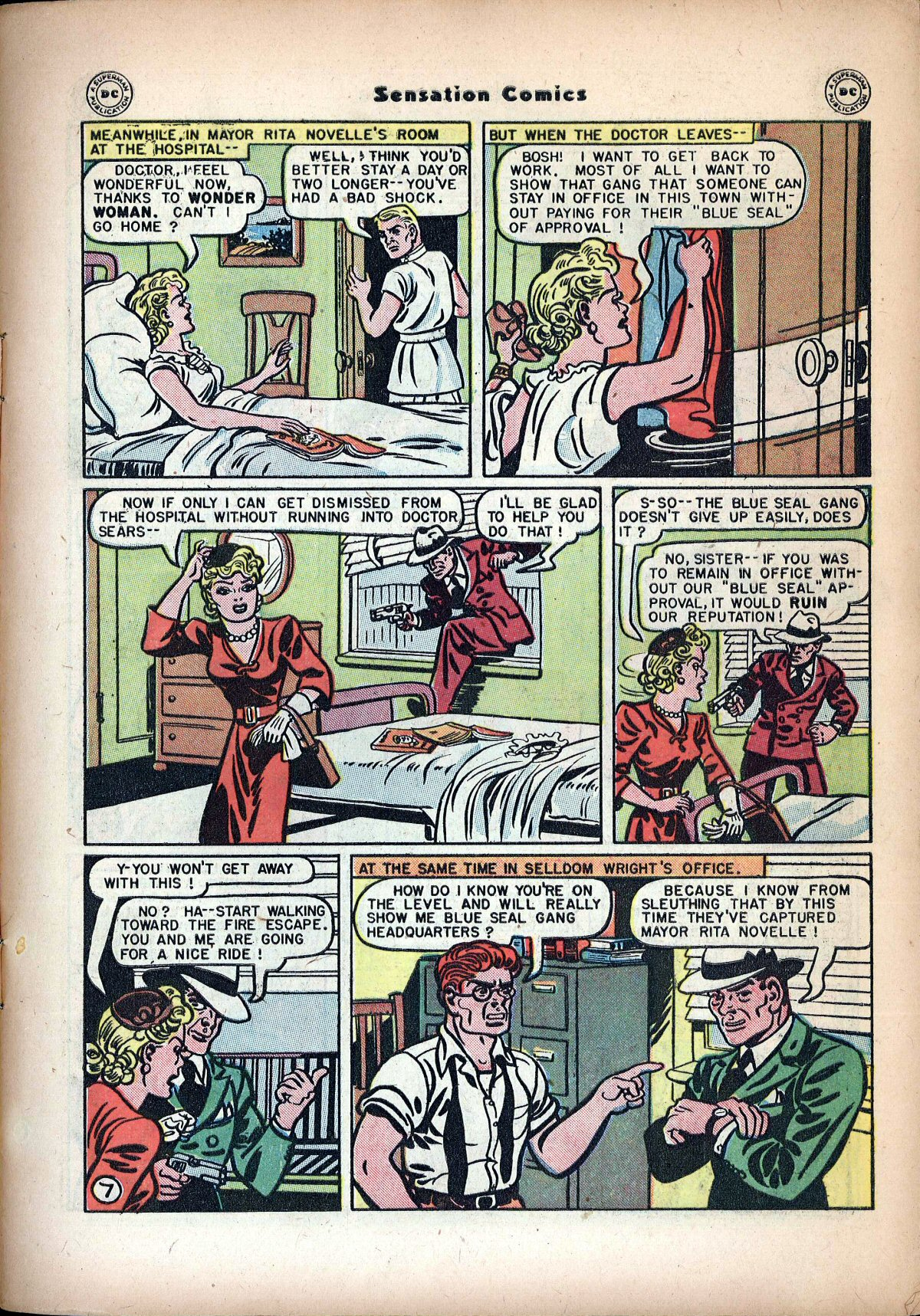 Read online Sensation (Mystery) Comics comic -  Issue #72 - 9