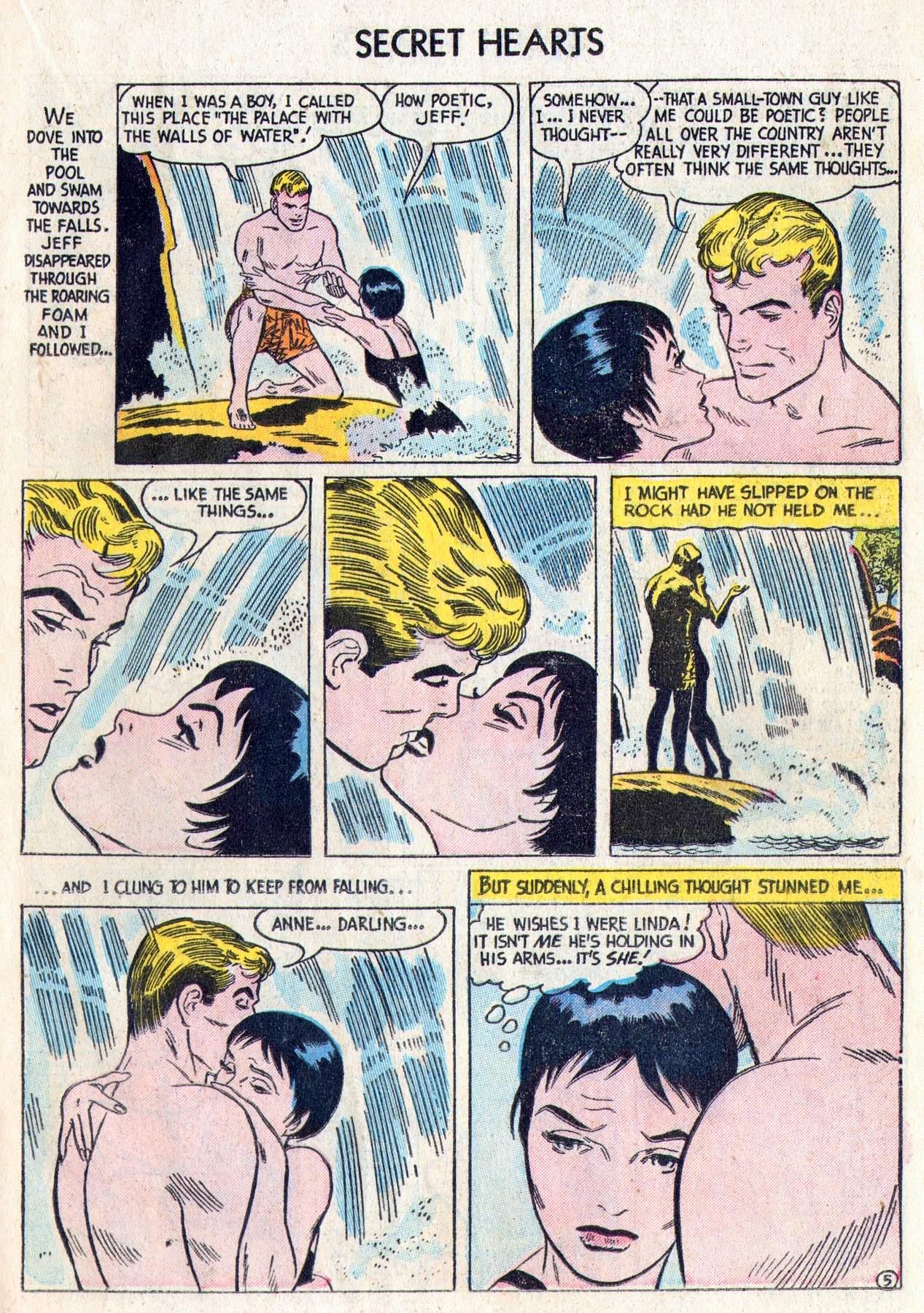 Read online Secret Hearts comic -  Issue #28 - 23