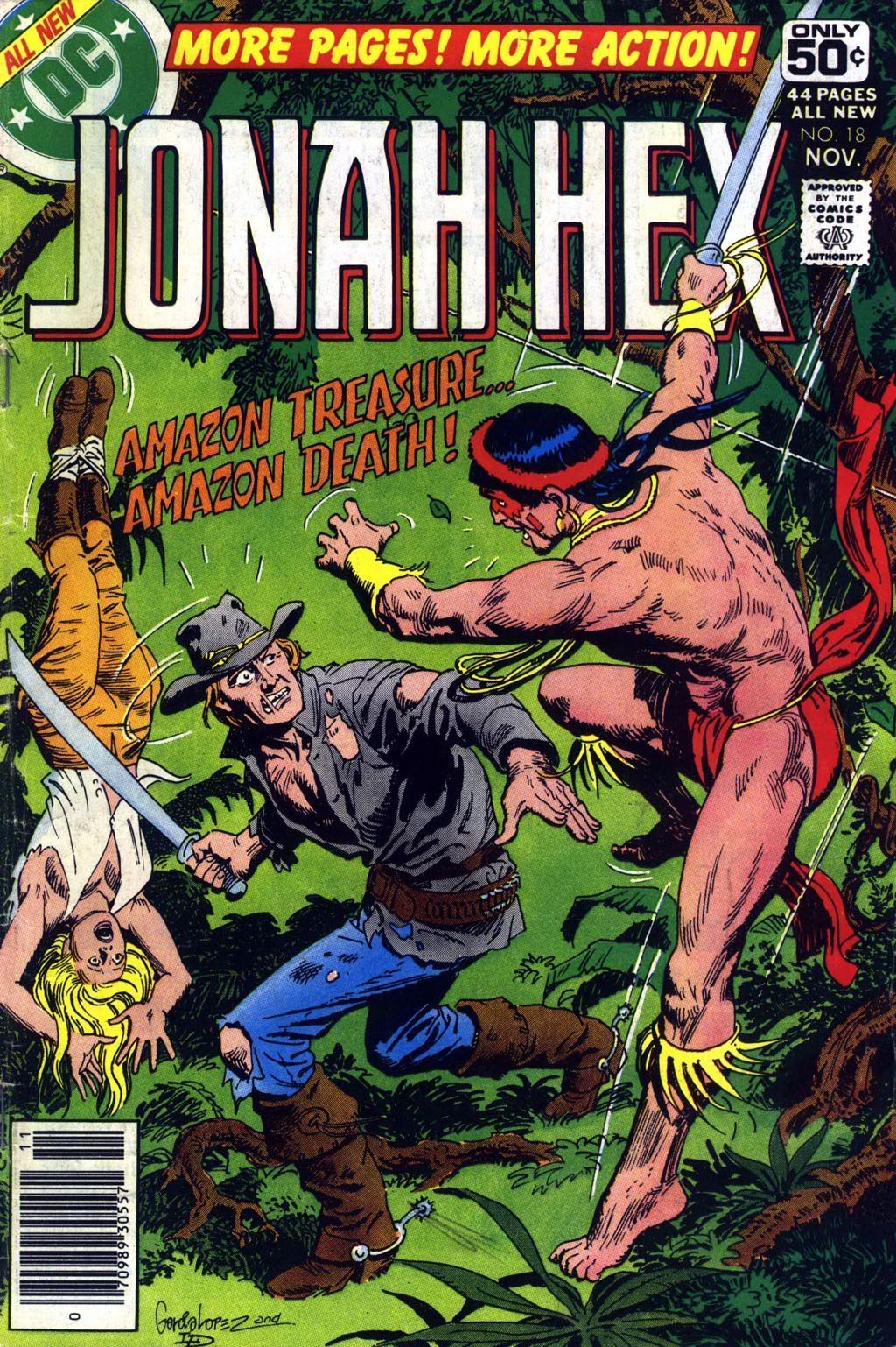 Jonah Hex (1977) 18 Page 1