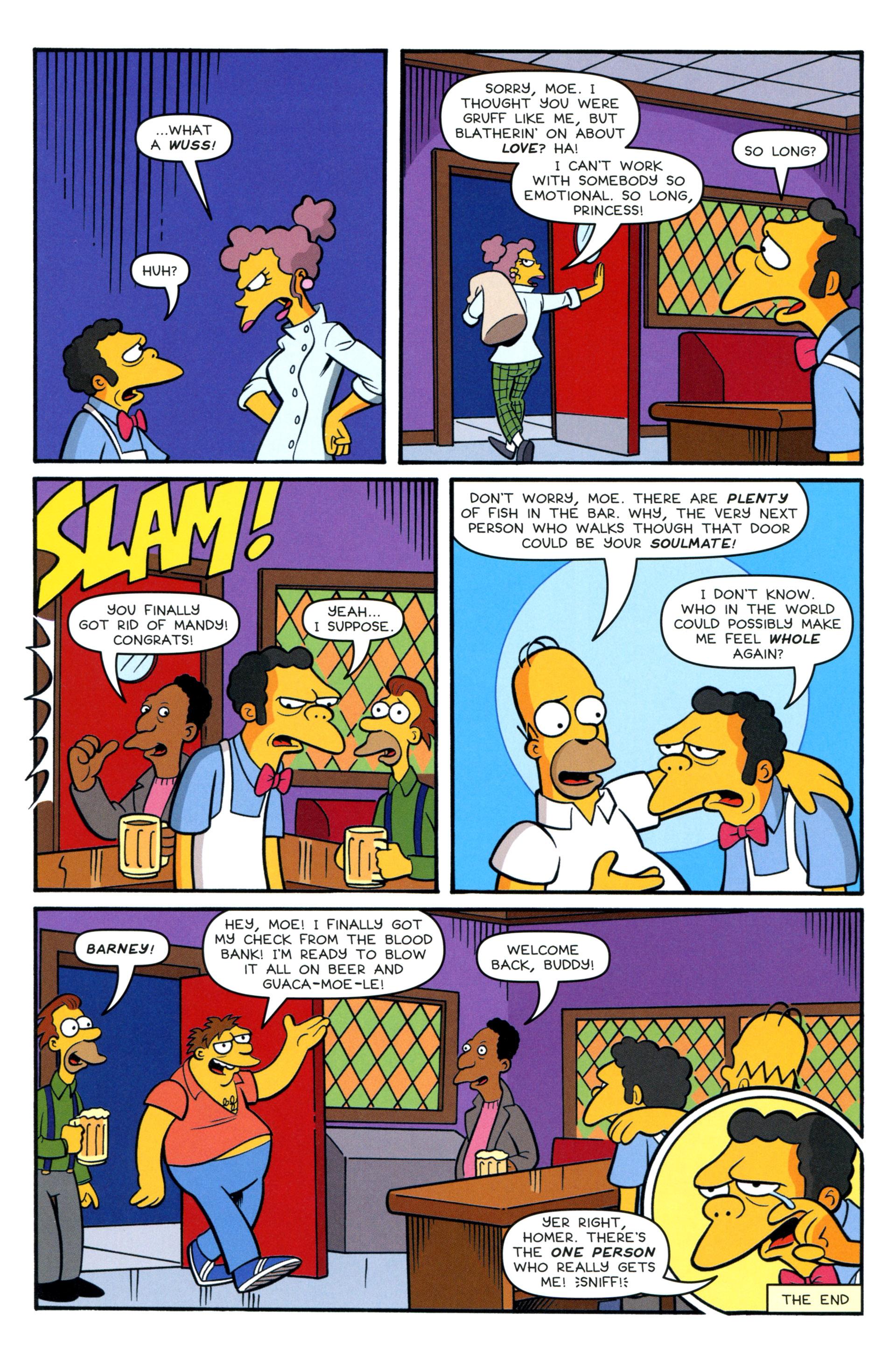 Read online Simpsons Comics comic -  Issue #200 - 41