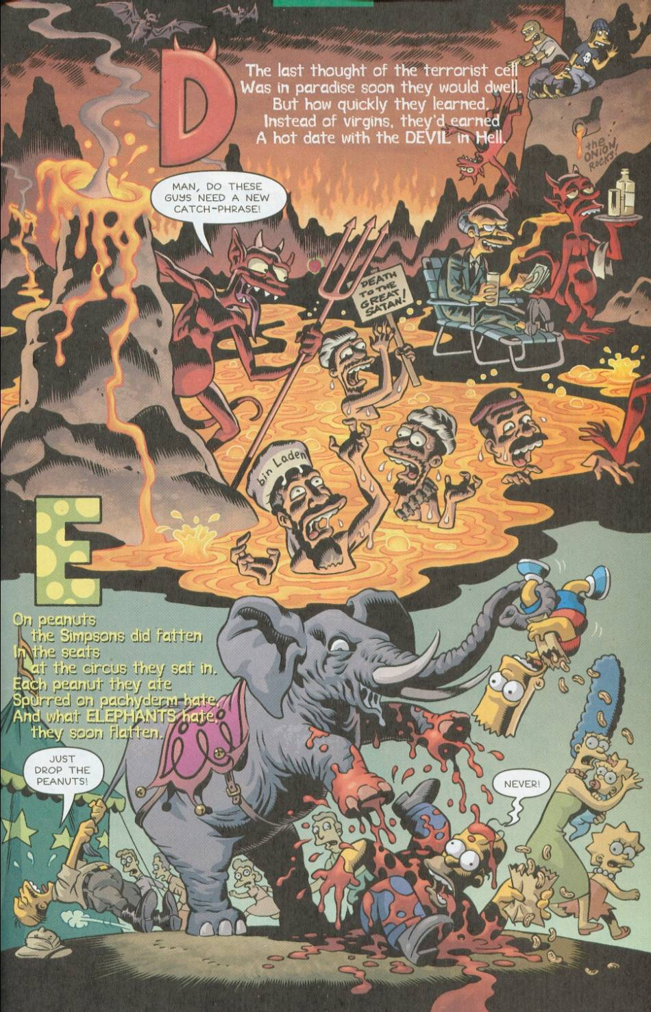 Read online Treehouse of Horror comic -  Issue #8 - 34