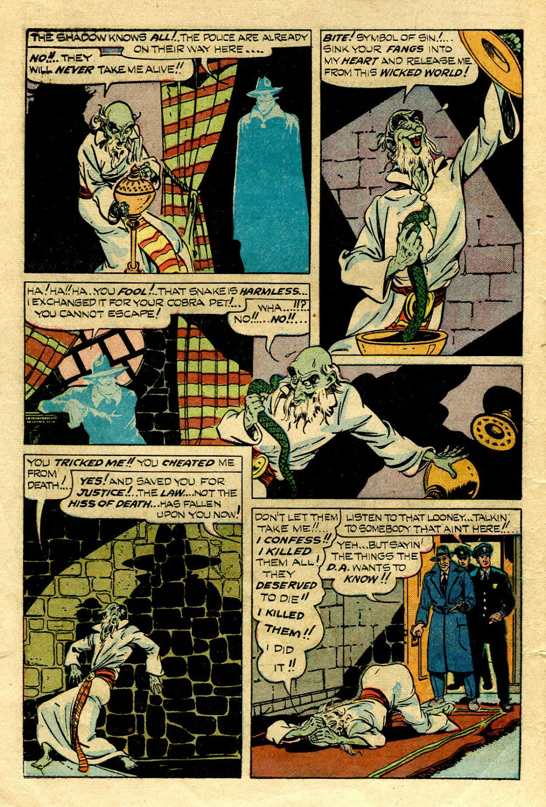 Shadow Comics issue 83 - Page 14