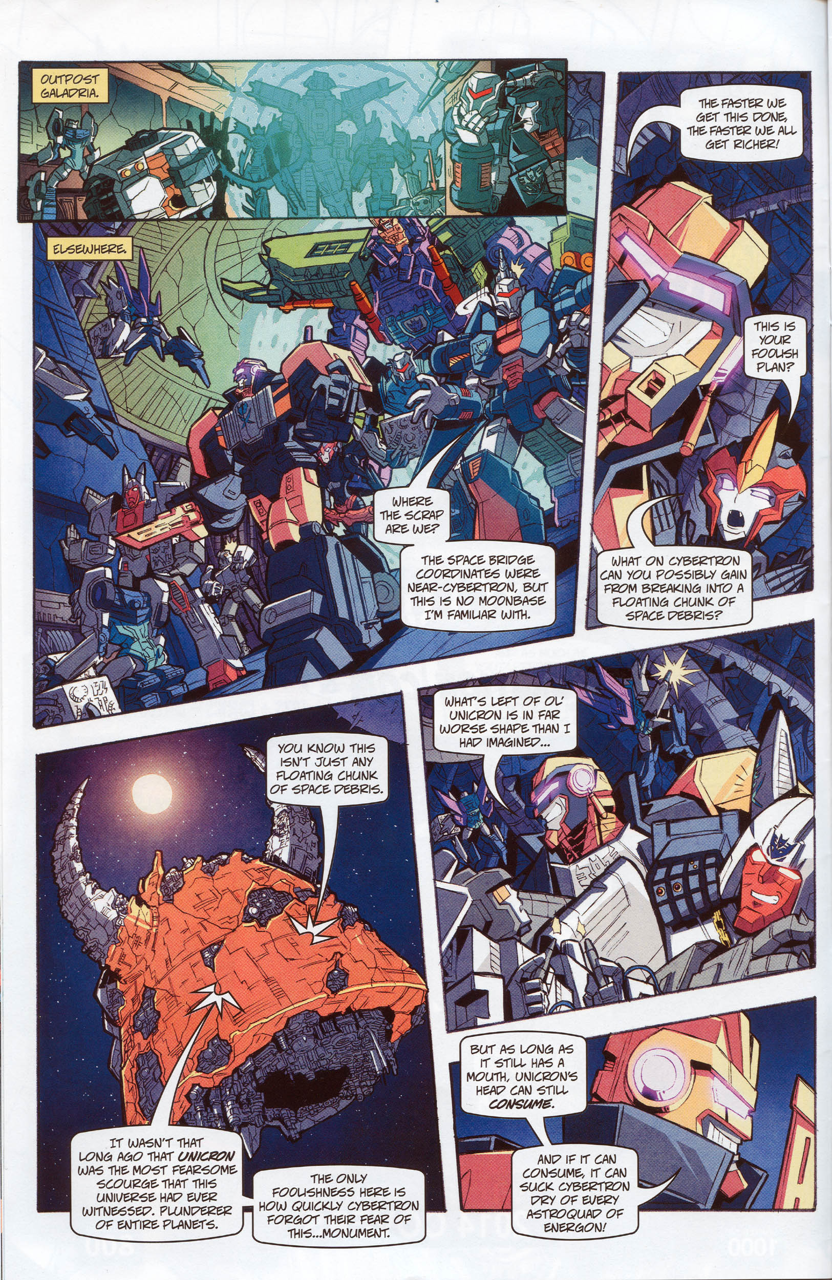 Read online Transformers: Timelines comic -  Issue #10 - 12
