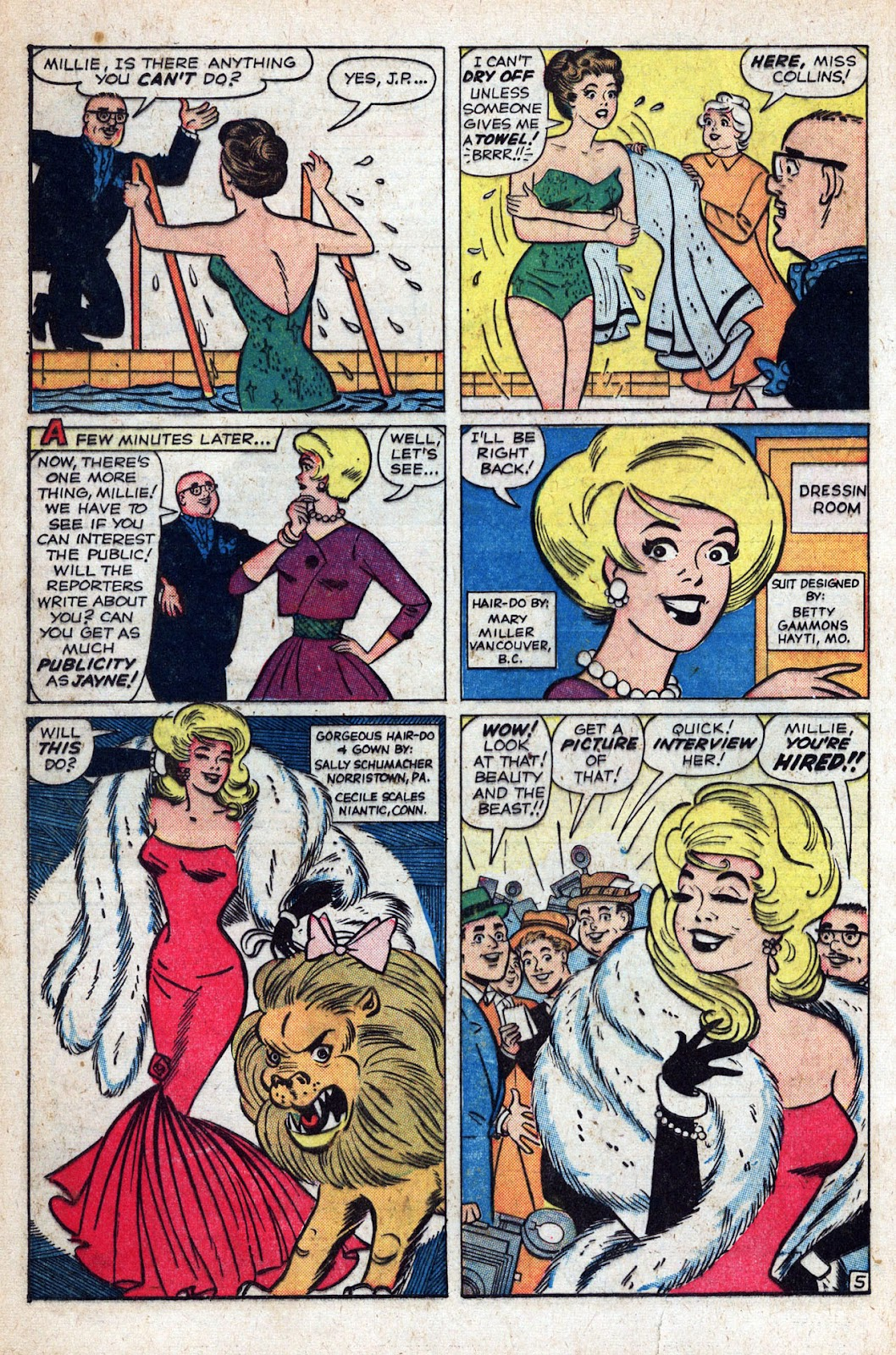 Read online Millie the Model comic -  Issue # Annual 1 - 46