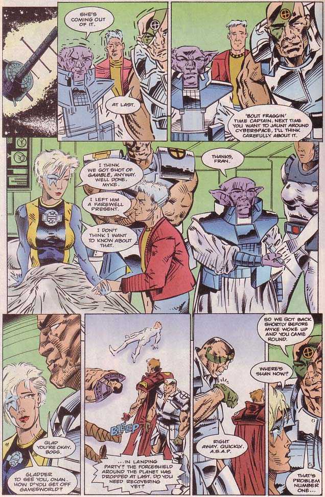 Read online Cyberspace 3000 comic -  Issue #8 - 17
