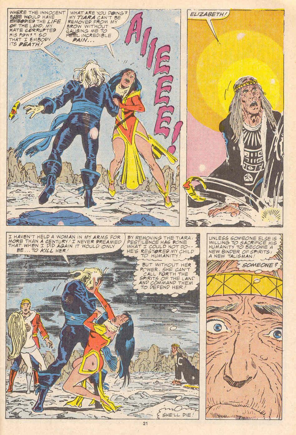Read online Alpha Flight (1983) comic -  Issue #37 - 22