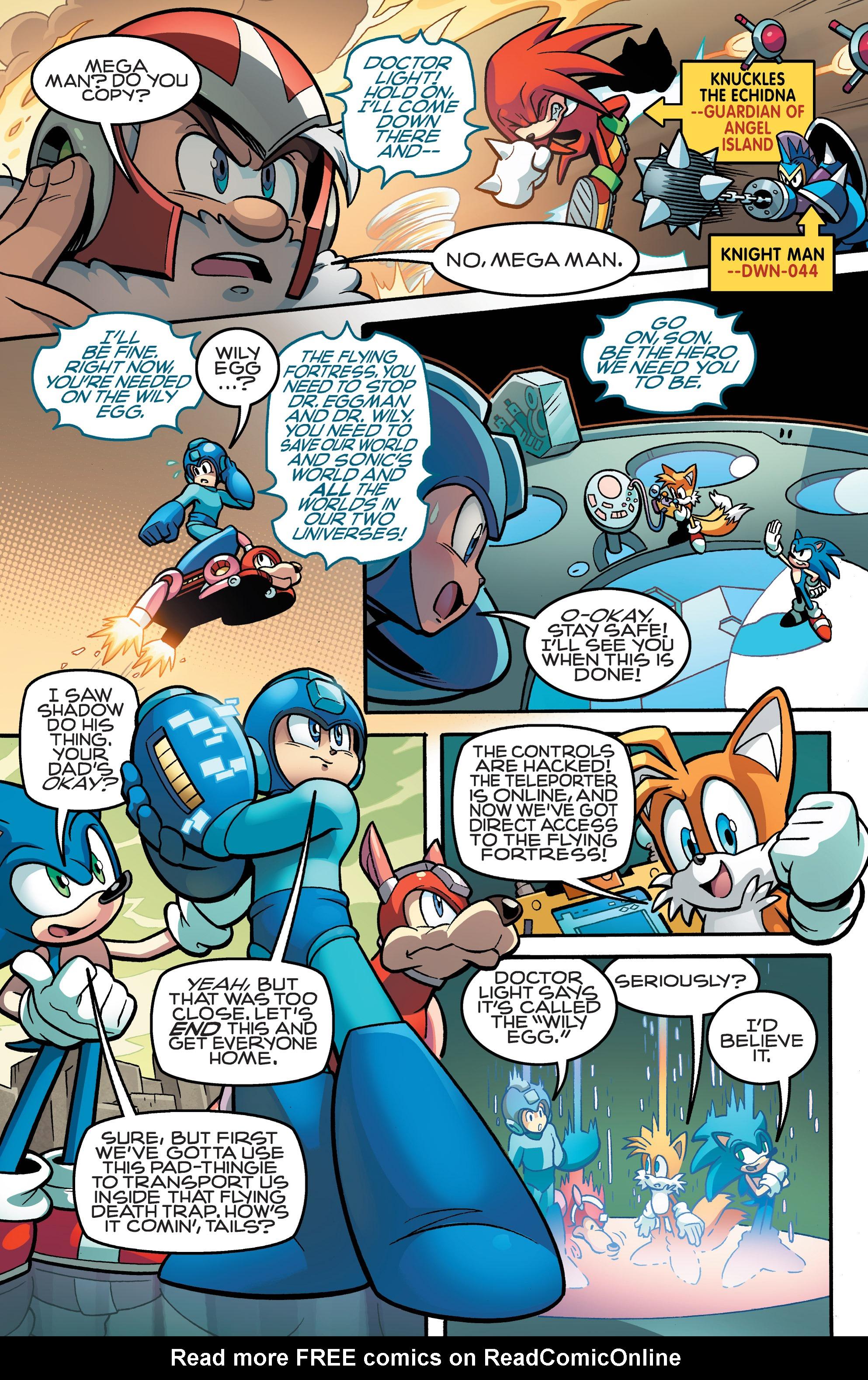 Read online Sonic Mega Man Worlds Collide comic -  Issue # Vol 3 - 53