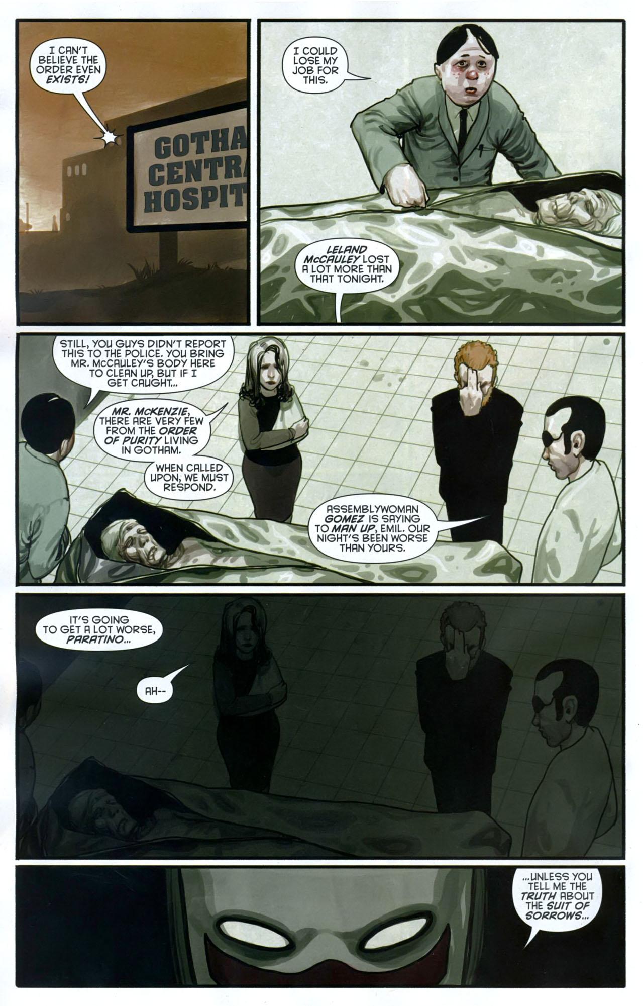 Read online Azrael: Death's Dark Knight comic -  Issue #2 - 21