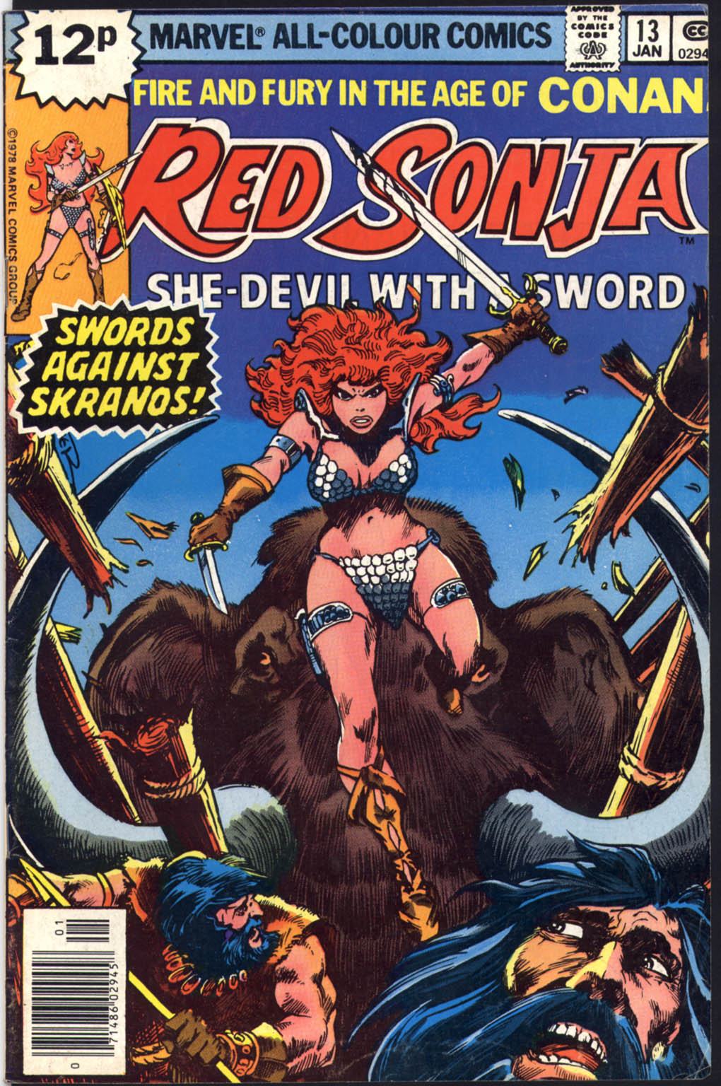 Red Sonja (1977) issue 13 - Page 1