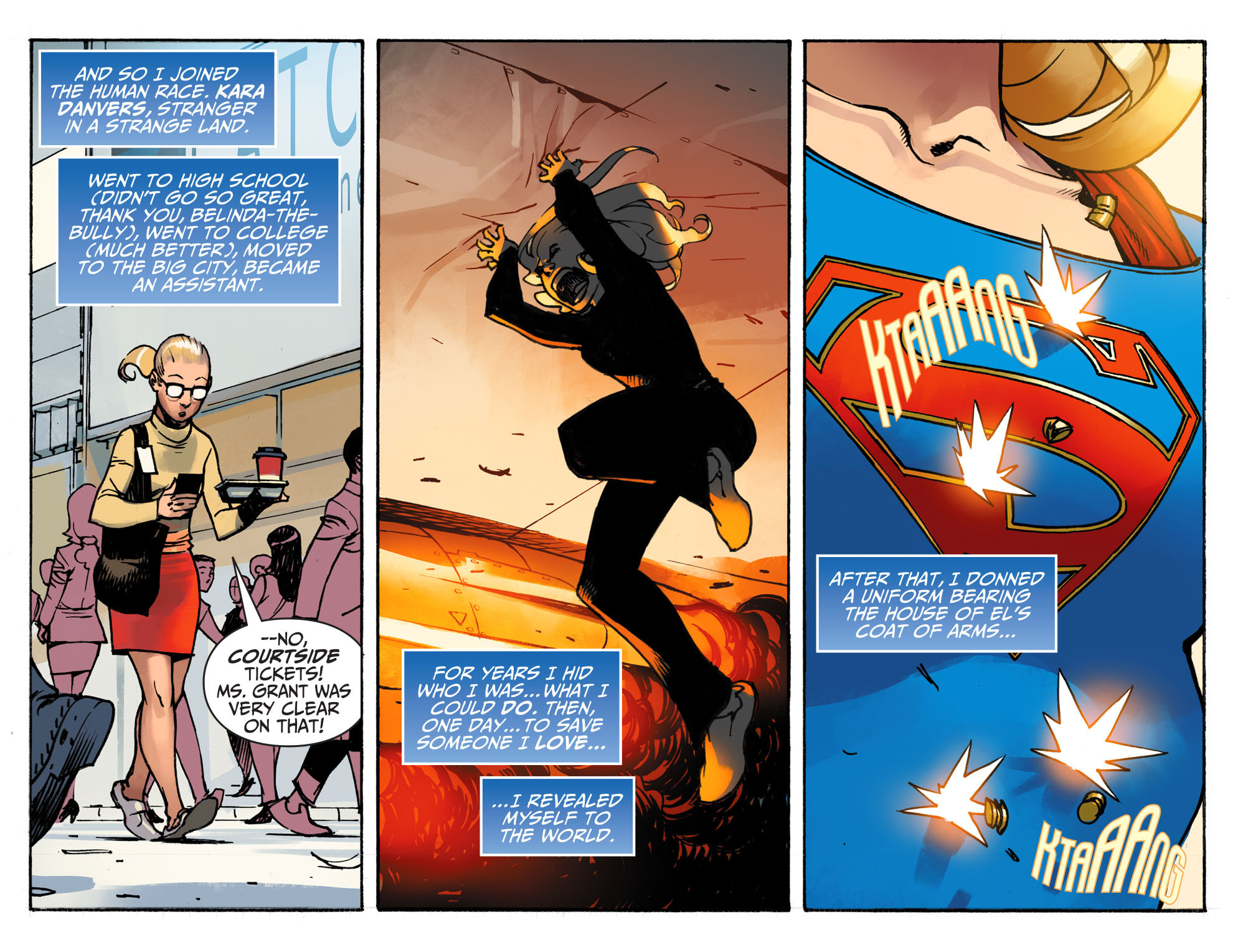 Read online Adventures of Supergirl comic -  Issue #1 - 11