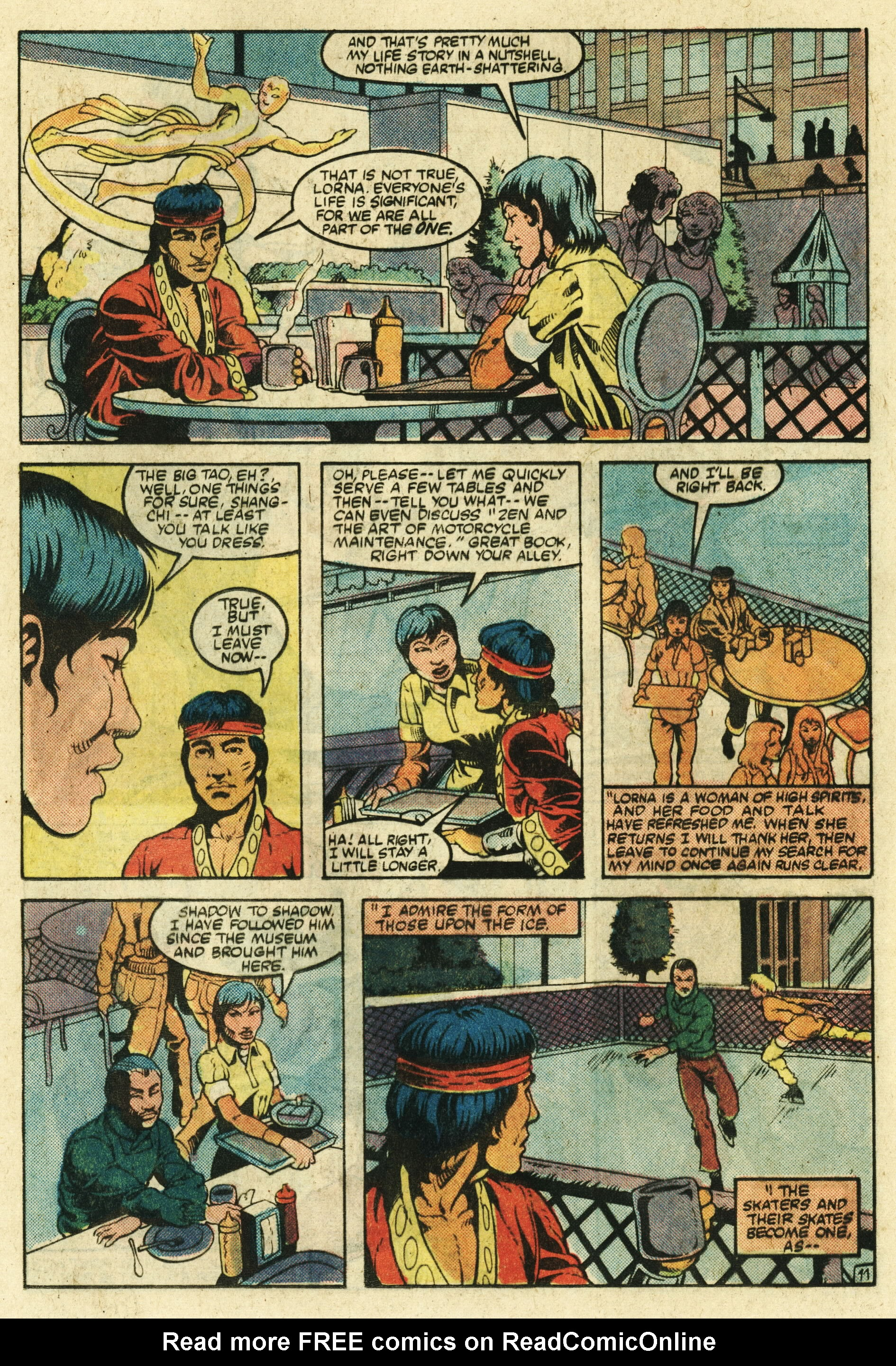 Read online Master of Kung Fu (1974) comic -  Issue #123 - 12