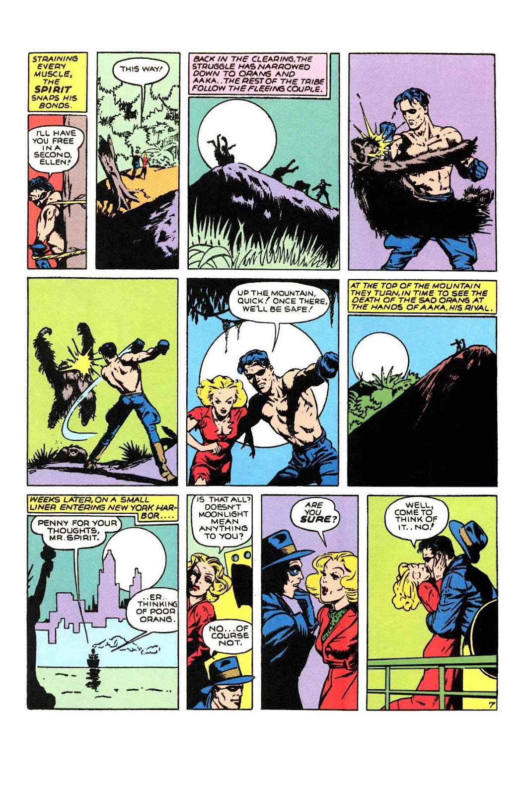 Read online Will Eisner's The Spirit Archives comic -  Issue # TPB 1 (Part 2) - 6