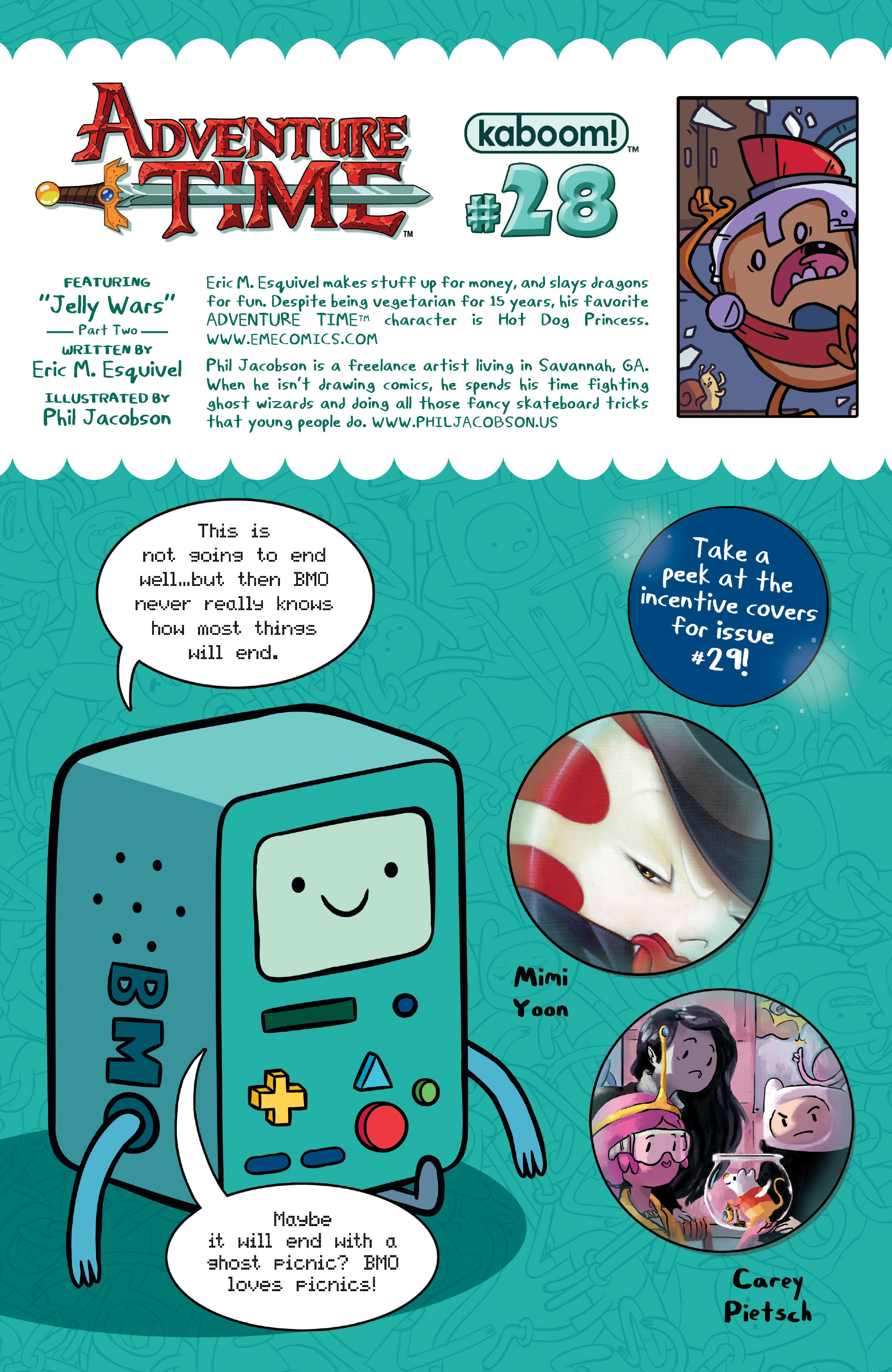 Read online Adventure Time comic -  Issue #28 - 25