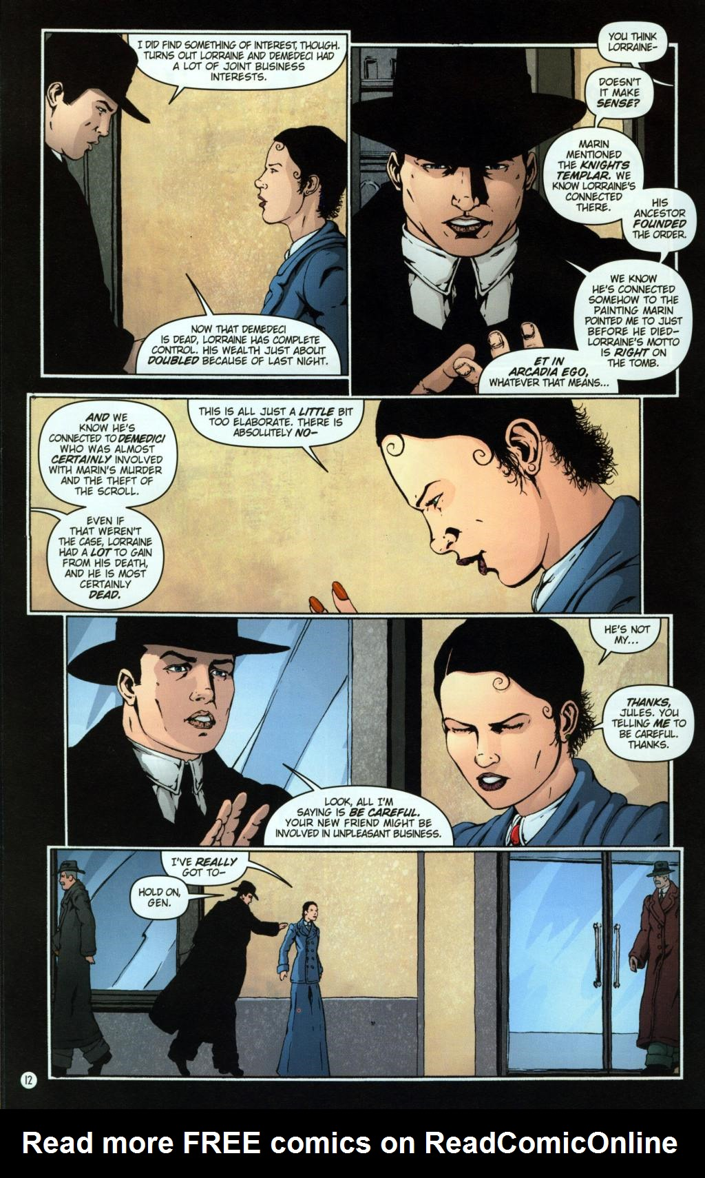Read online Rex Mundi comic -  Issue #8 - 16
