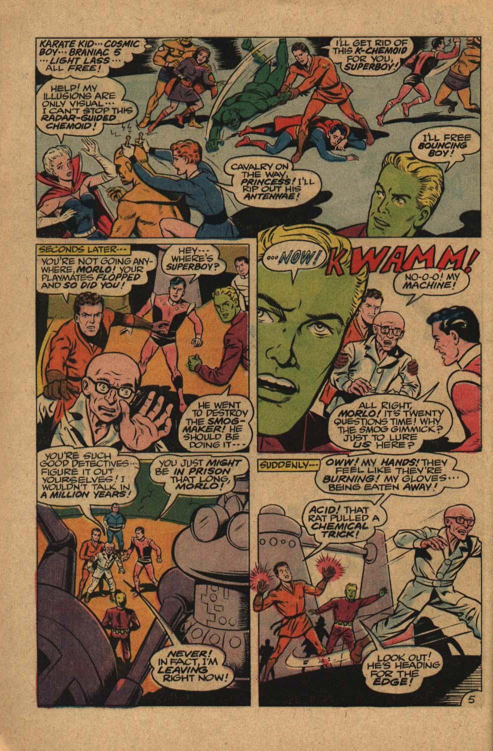 Read online Adventure Comics (1938) comic -  Issue #363 - 8