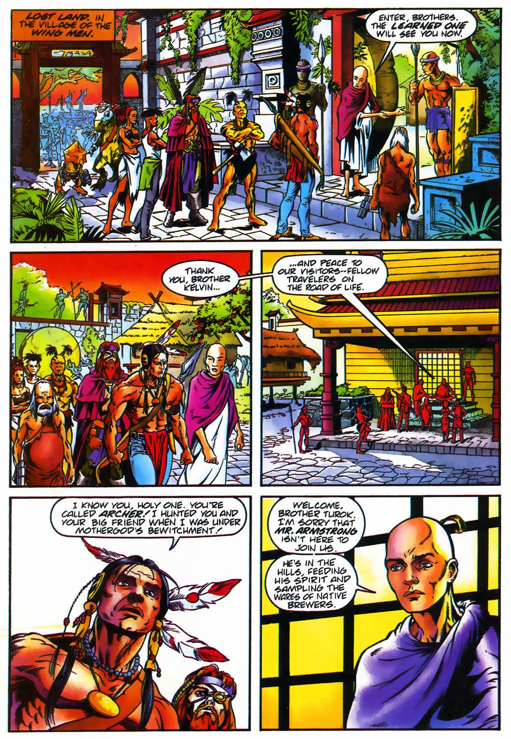 Read online Turok, Dinosaur Hunter (1993) comic -  Issue #26 - 18