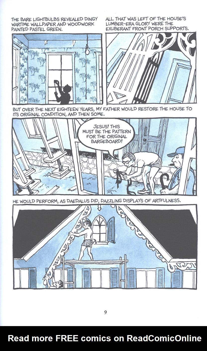 Read online Fun Home: A Family Tragicomic comic -  Issue # TPB - 16