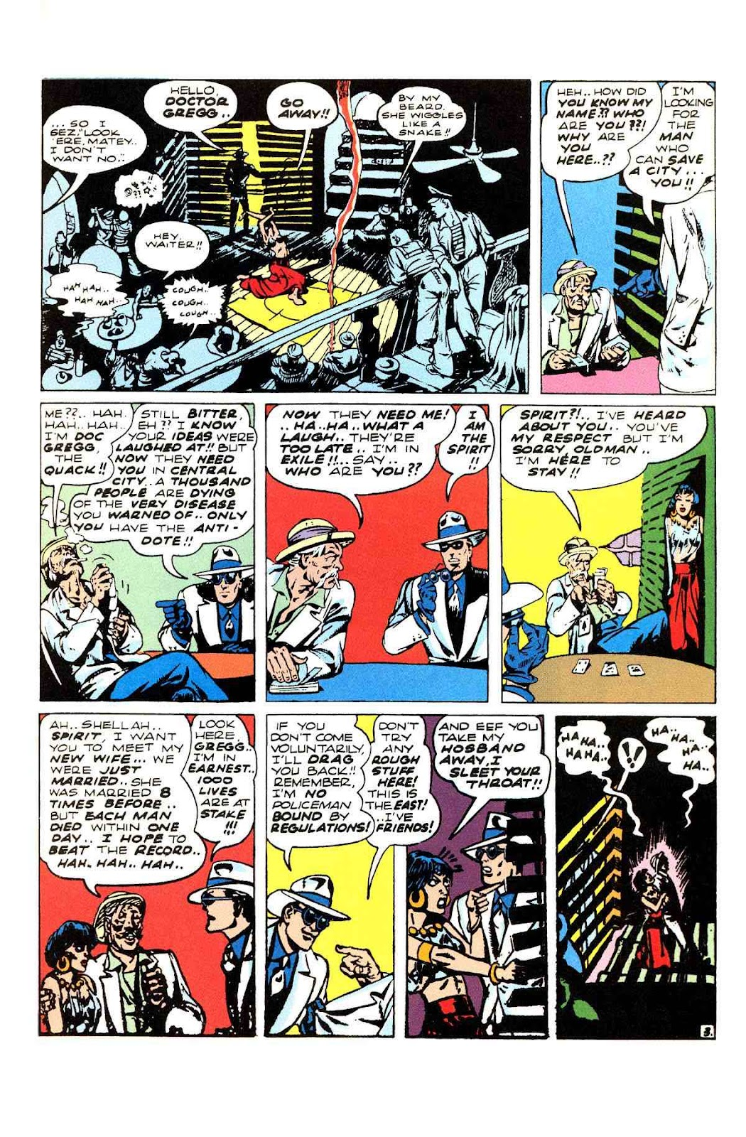 Read online Will Eisner's The Spirit Archives comic -  Issue # TPB 3 (Part 1) - 20