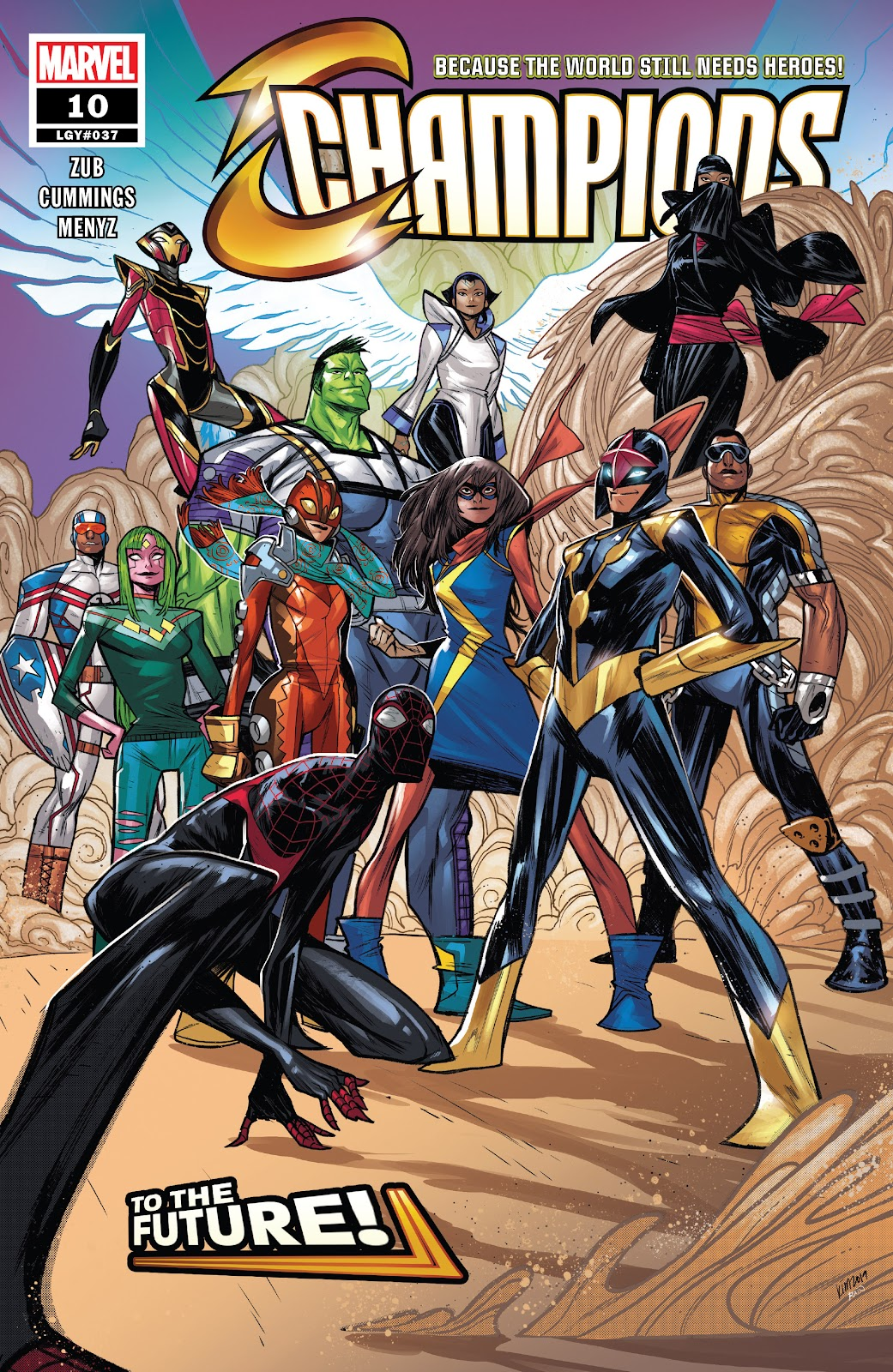 Read online Champions (2019) comic -  Issue #10 - 1