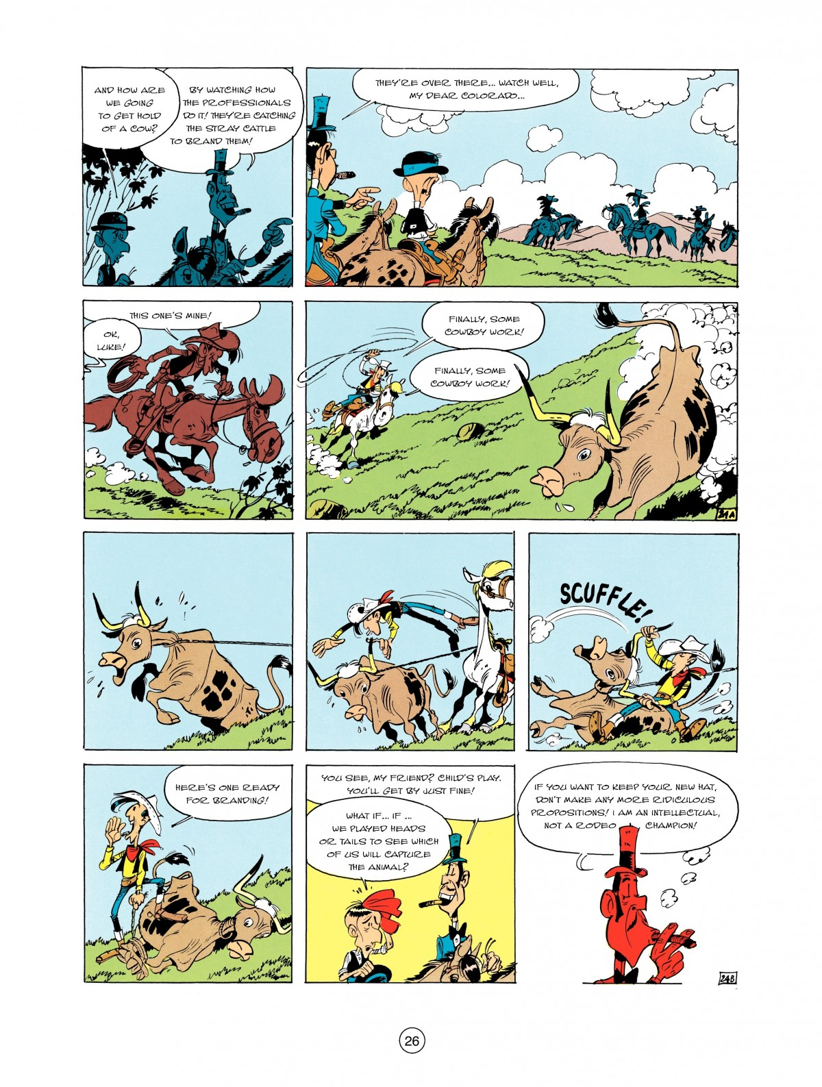 Read online A Lucky Luke Adventure comic -  Issue #2 - 28
