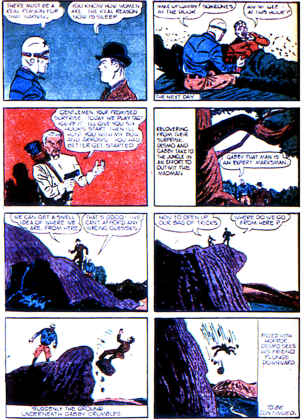 Read online Adventure Comics (1938) comic -  Issue #43 - 41