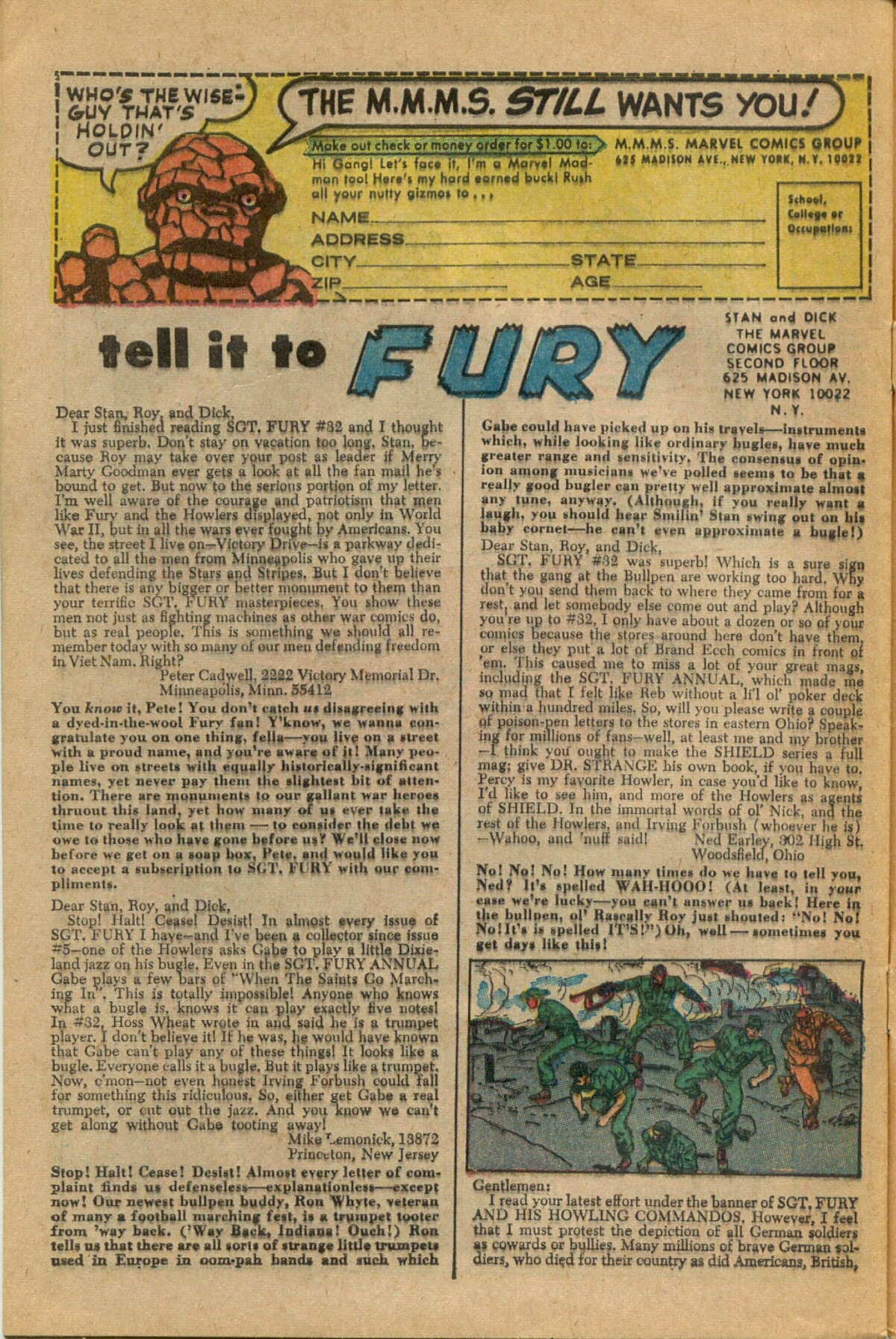Read online Sgt. Fury comic -  Issue #35 - 32