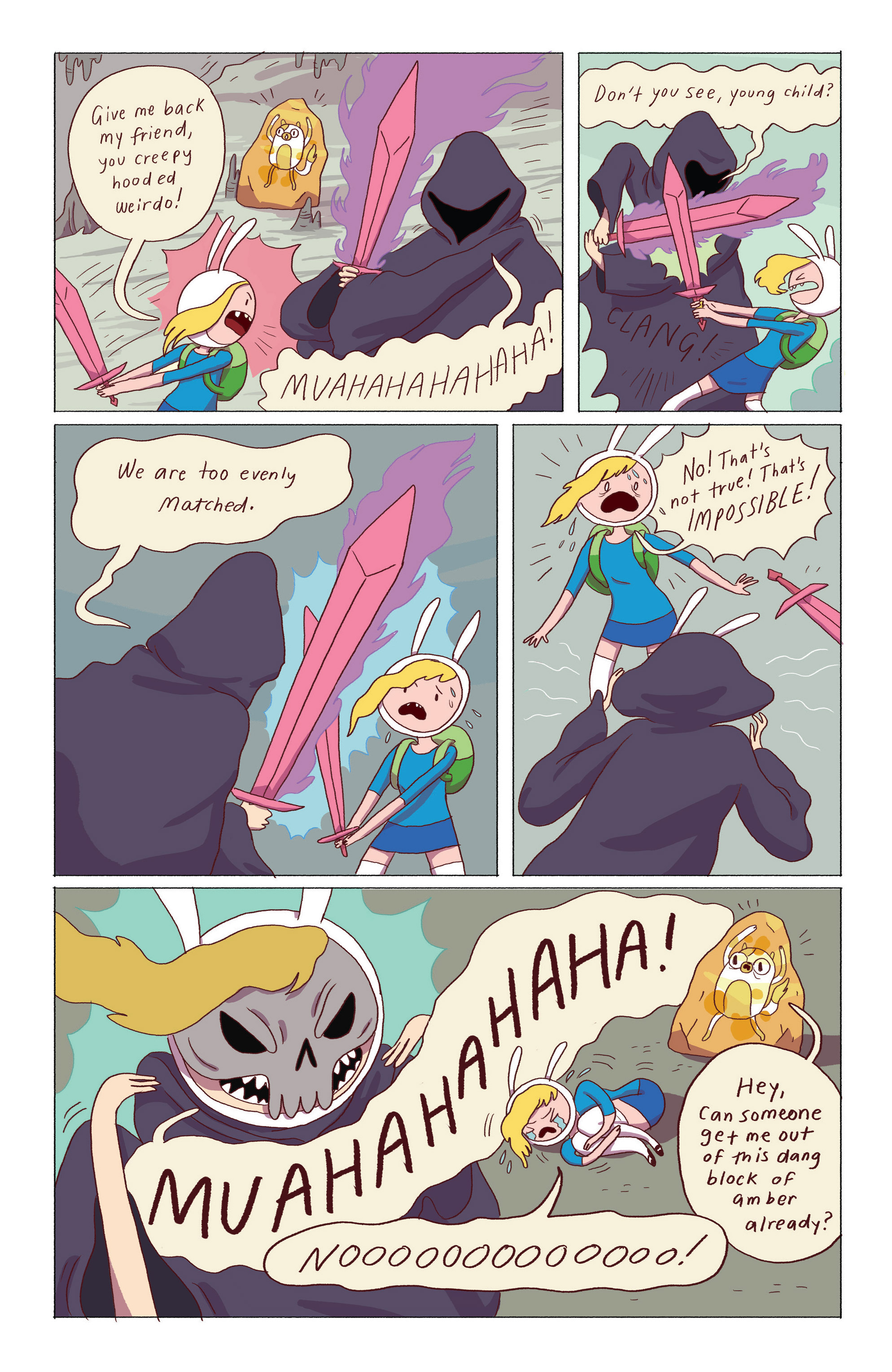 Read online Adventure Time: Ice King comic -  Issue #5 - 3