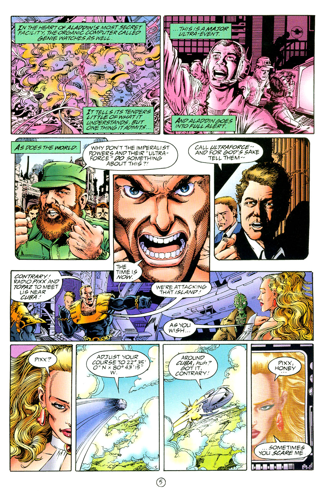 Read online UltraForce (1994) comic -  Issue #3 - 6