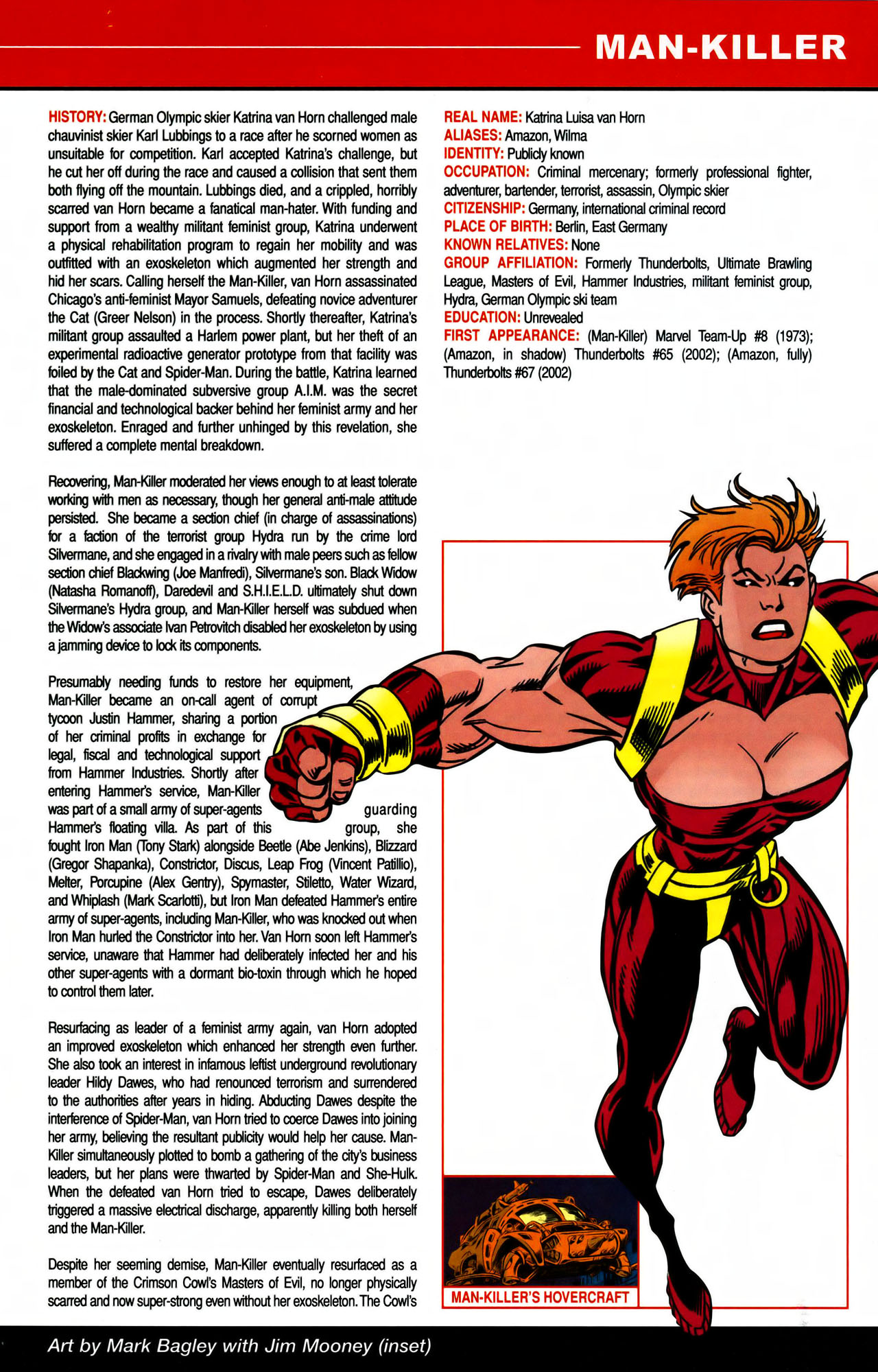 Read online All-New Official Handbook of the Marvel Universe A to Z comic -  Issue #7 - 7