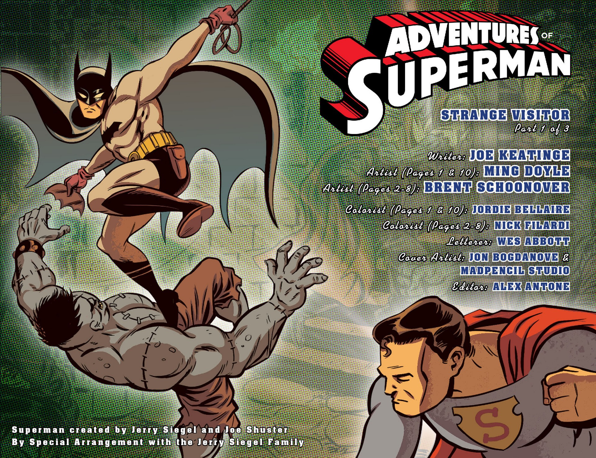 Read online Adventures of Superman [I] comic -  Issue #46 - 2