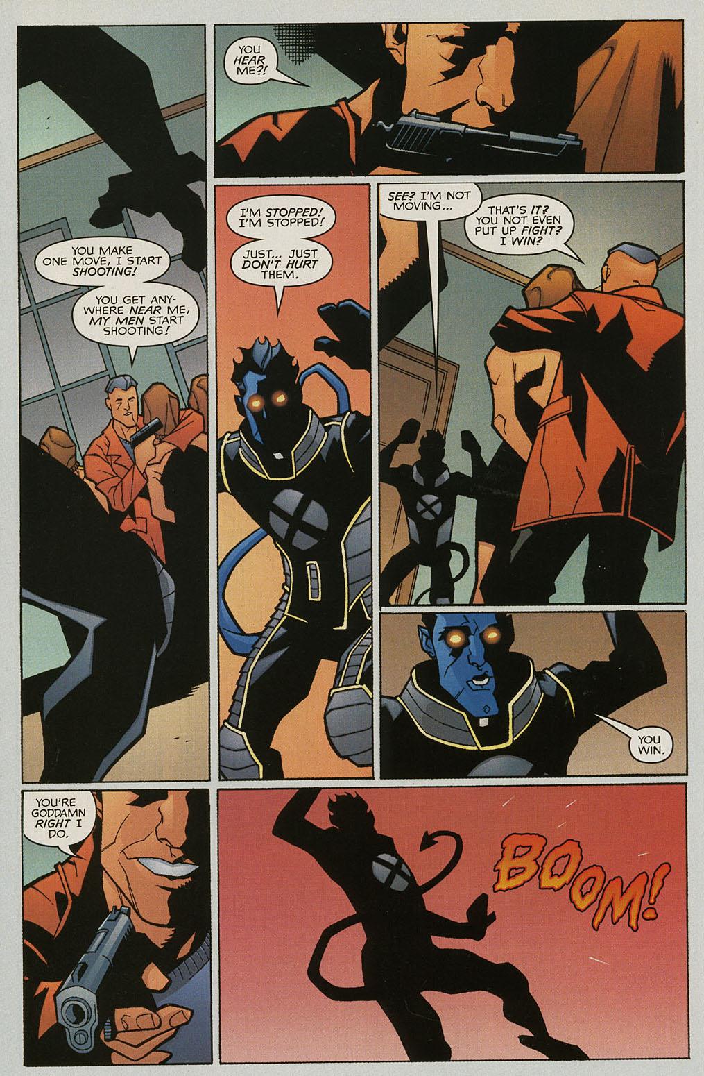 Read online Nightcrawler (2002) comic -  Issue #3 - 21