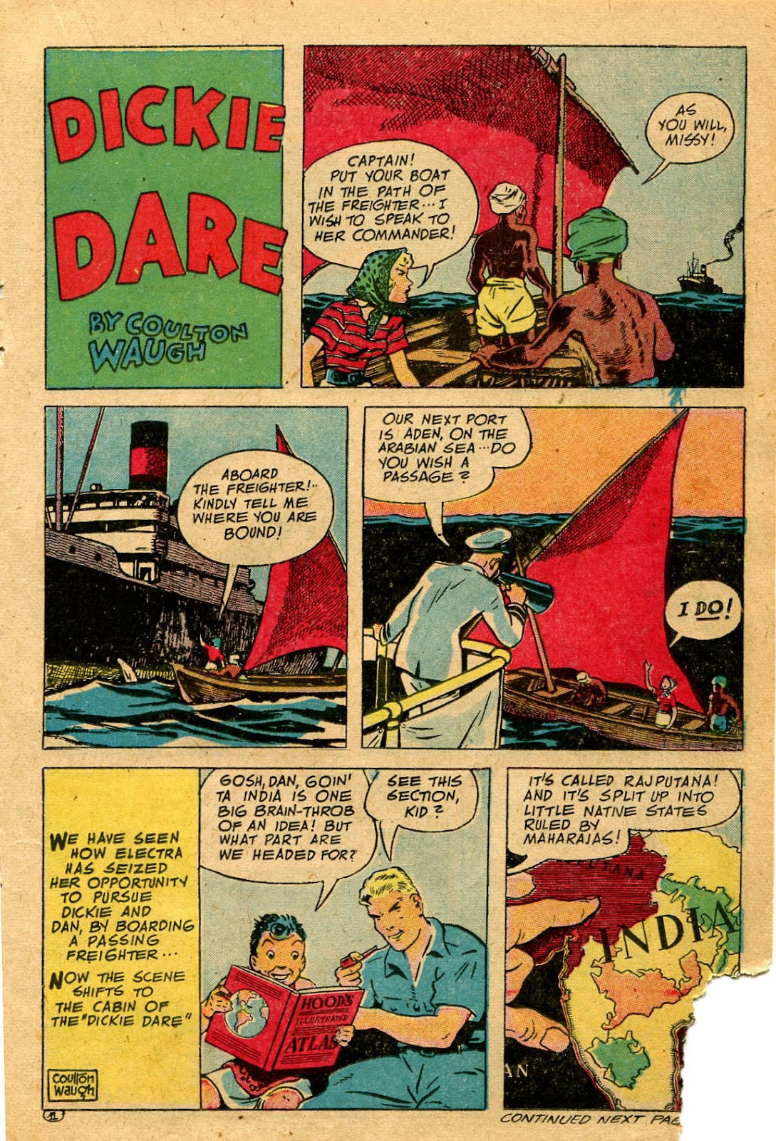 Read online Famous Funnies comic -  Issue #127 - 21