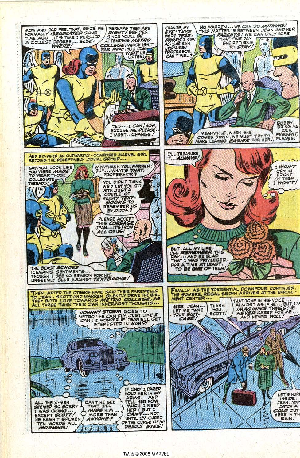 Read online Uncanny X-Men (1963) comic -  Issue #72 - 28
