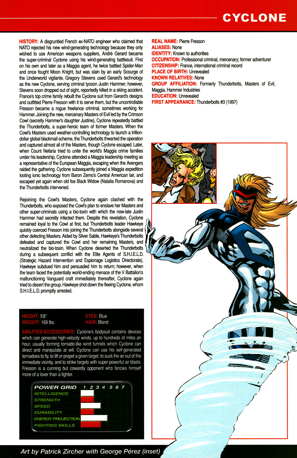 Read online All-New Official Handbook of the Marvel Universe A to Z comic -  Issue #3 - 15