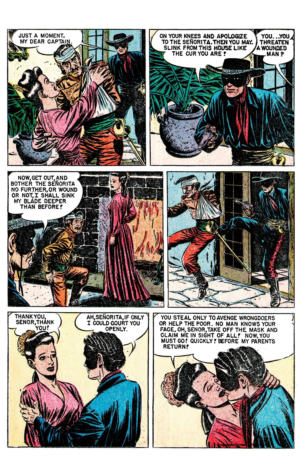 Read online AM Archives: The Mark of Zorro #1 1949 Dell Edition comic -  Issue #1 1949 Dell Edition Full - 19