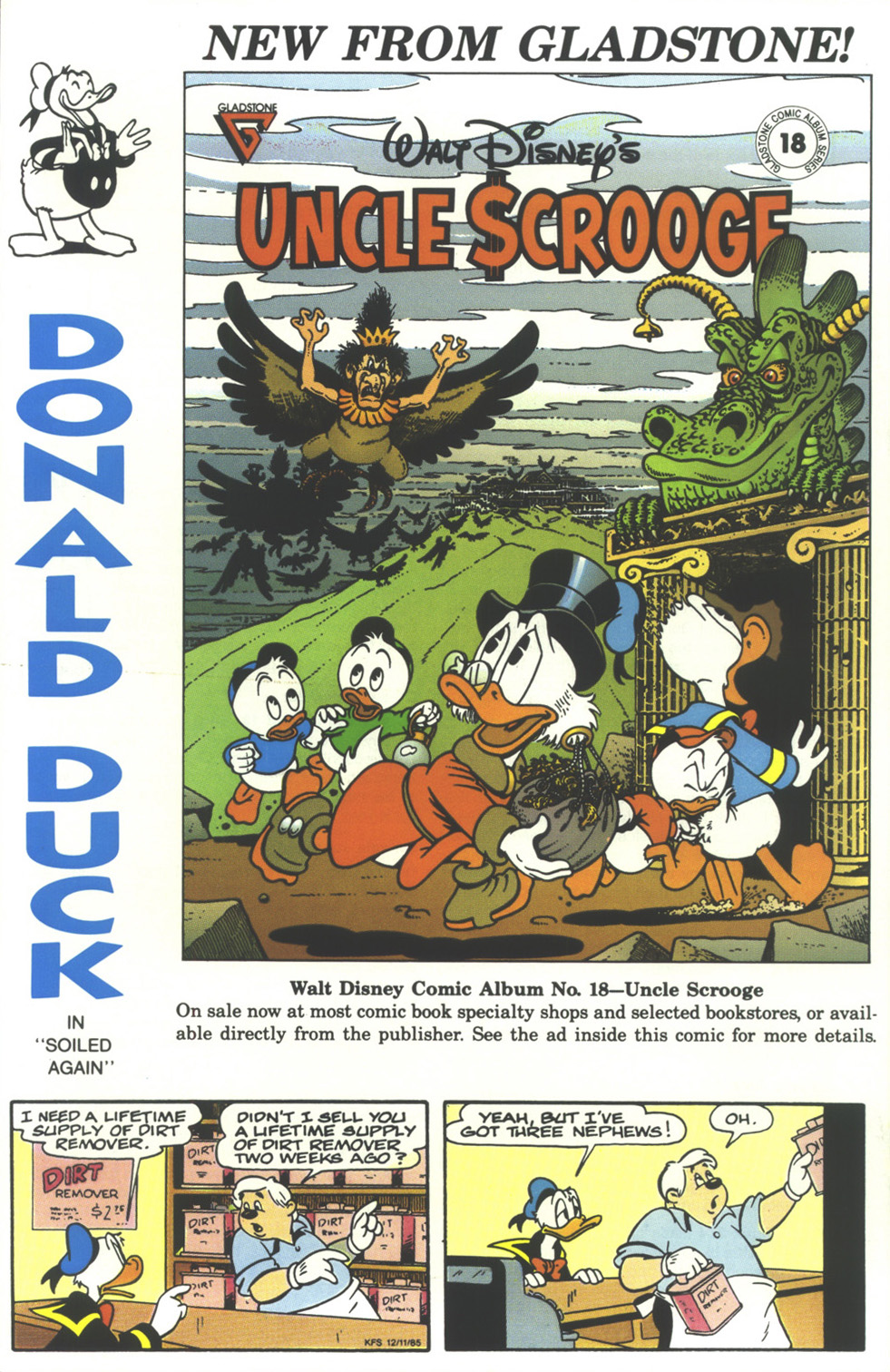 Read online Uncle Scrooge (1953) comic -  Issue #237 - 36