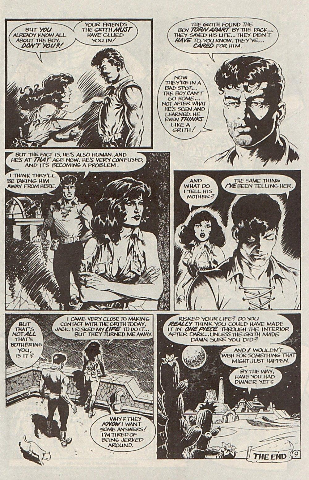 Read online Xenozoic Tales comic -  Issue #6 - 12