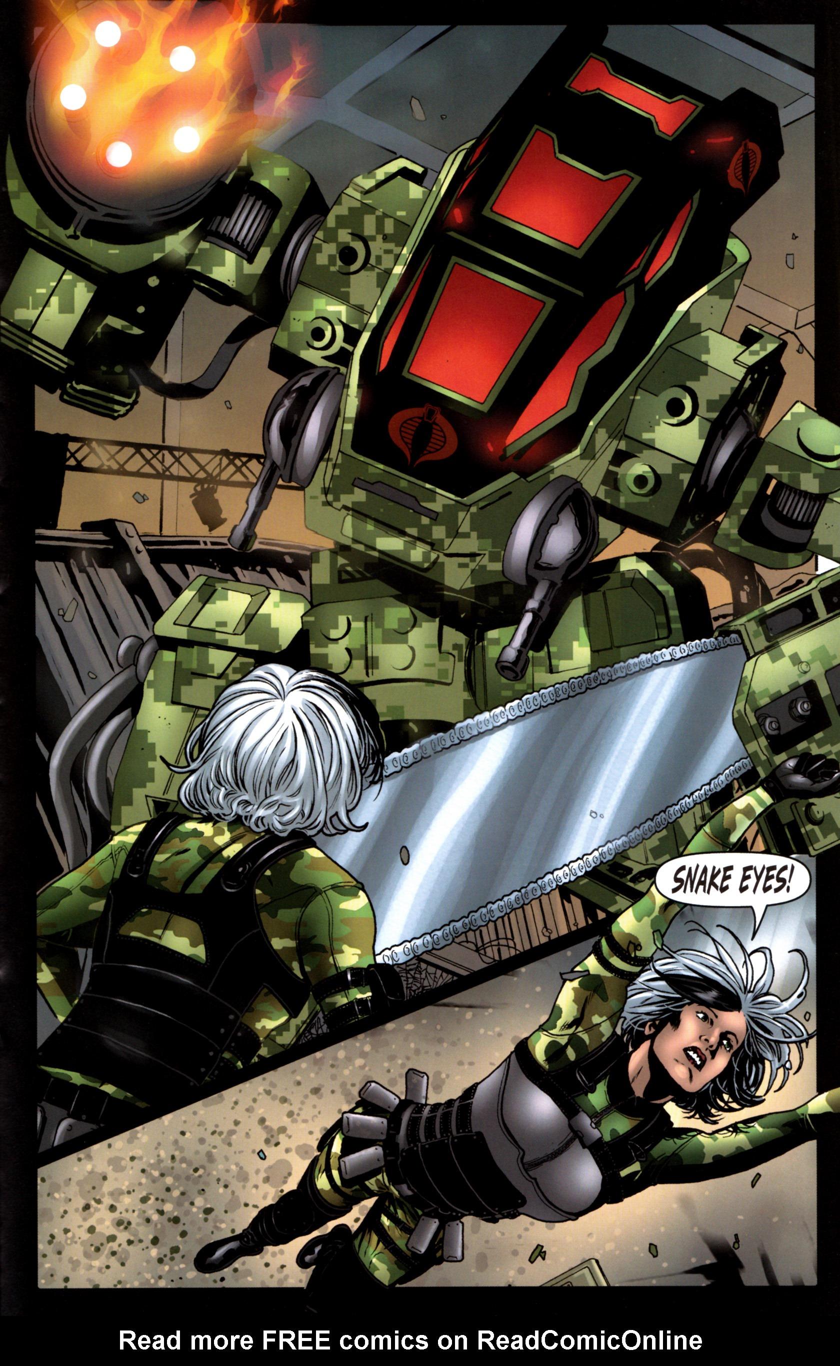 Read online G.I. Joe: Snake Eyes comic -  Issue #9 - 22